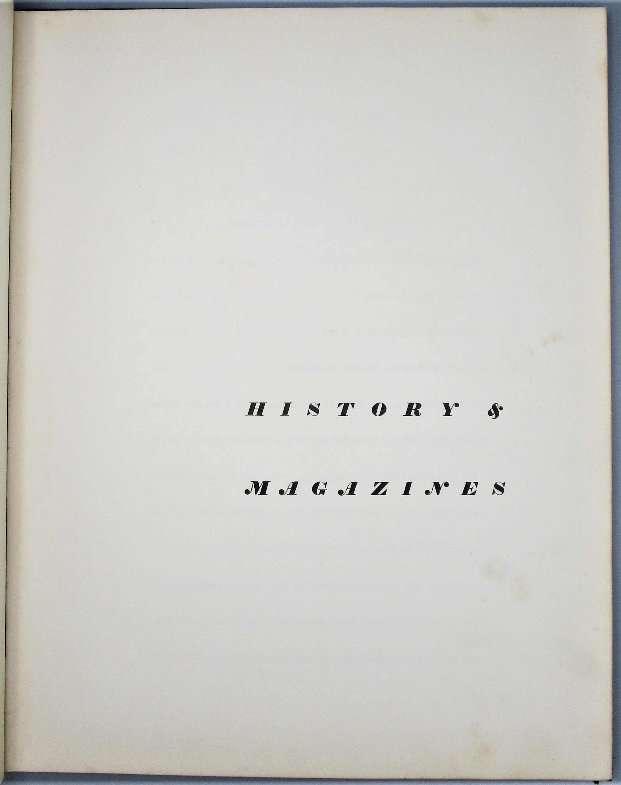 HISTORY & MAGAZINES - 1941 [Signed Limited Edition]