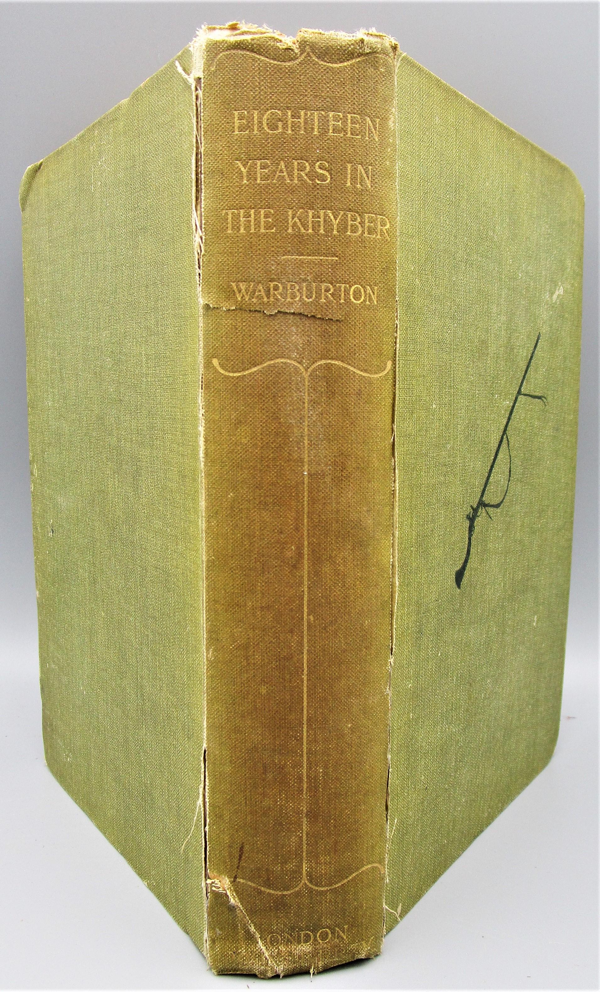 EIGHTEEN YEARS IN THE KHYBER (1879-1898), by Robert Warburton - 1900 [1st Ed]