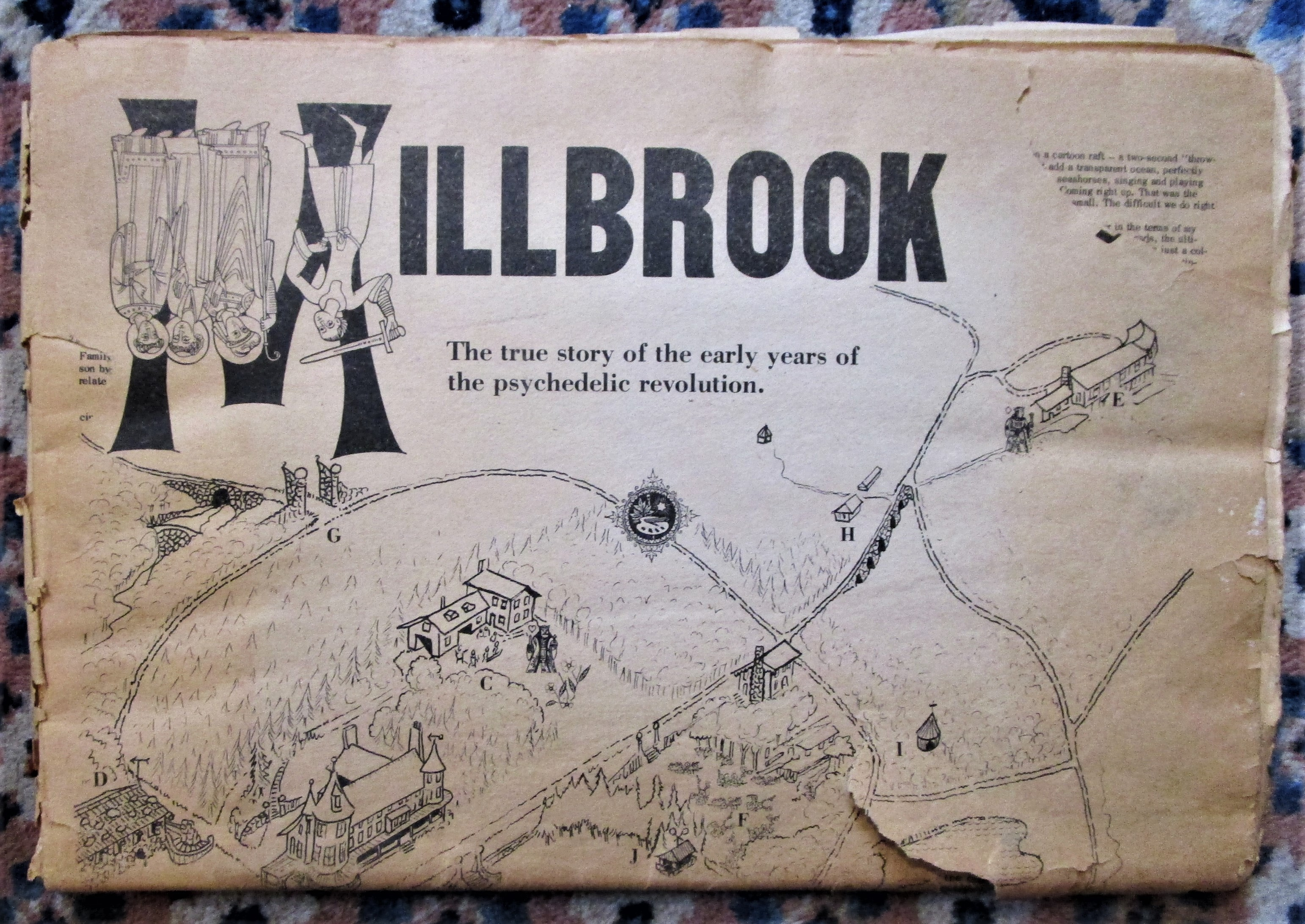 MILLBROOK: THE TRUE STORY OF THE EARLY YEARS OF THE PSYCHEDELIC REVOLUTION, by Art Kleps - 1967 [1st Ed]