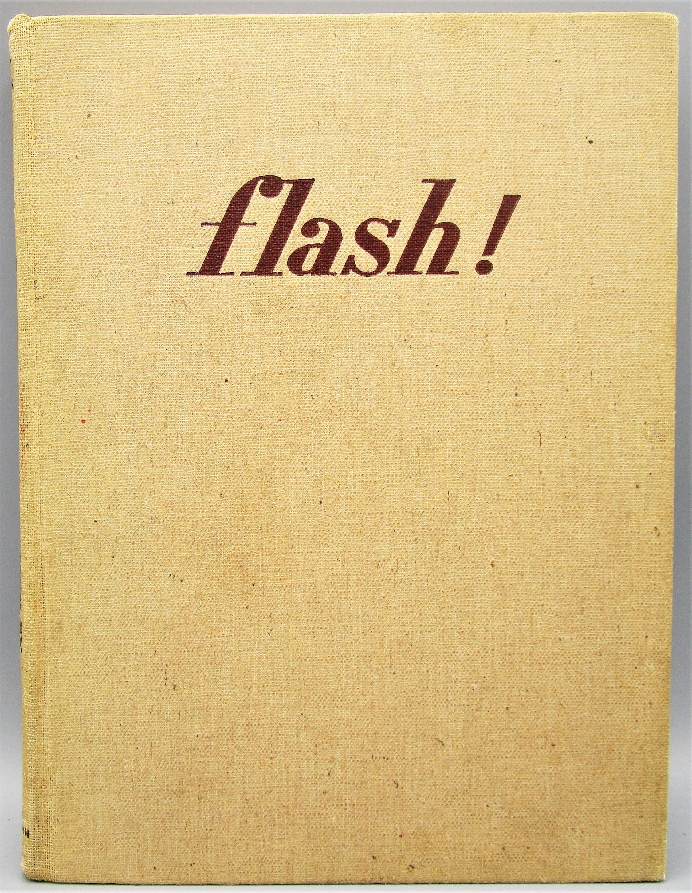 FLASH!, by Harold Edgerton and James Killian - 1939 [1st Ed]
