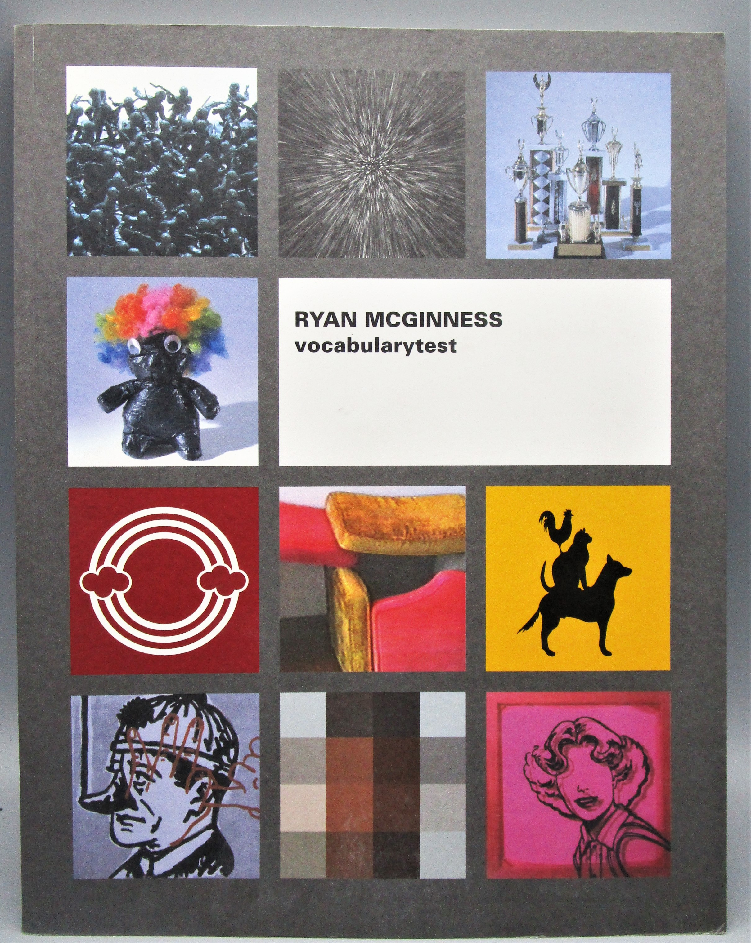 RYAN MCGINNESS: VOCABULARYTEST - 2001 [Ltd 1st Ed]