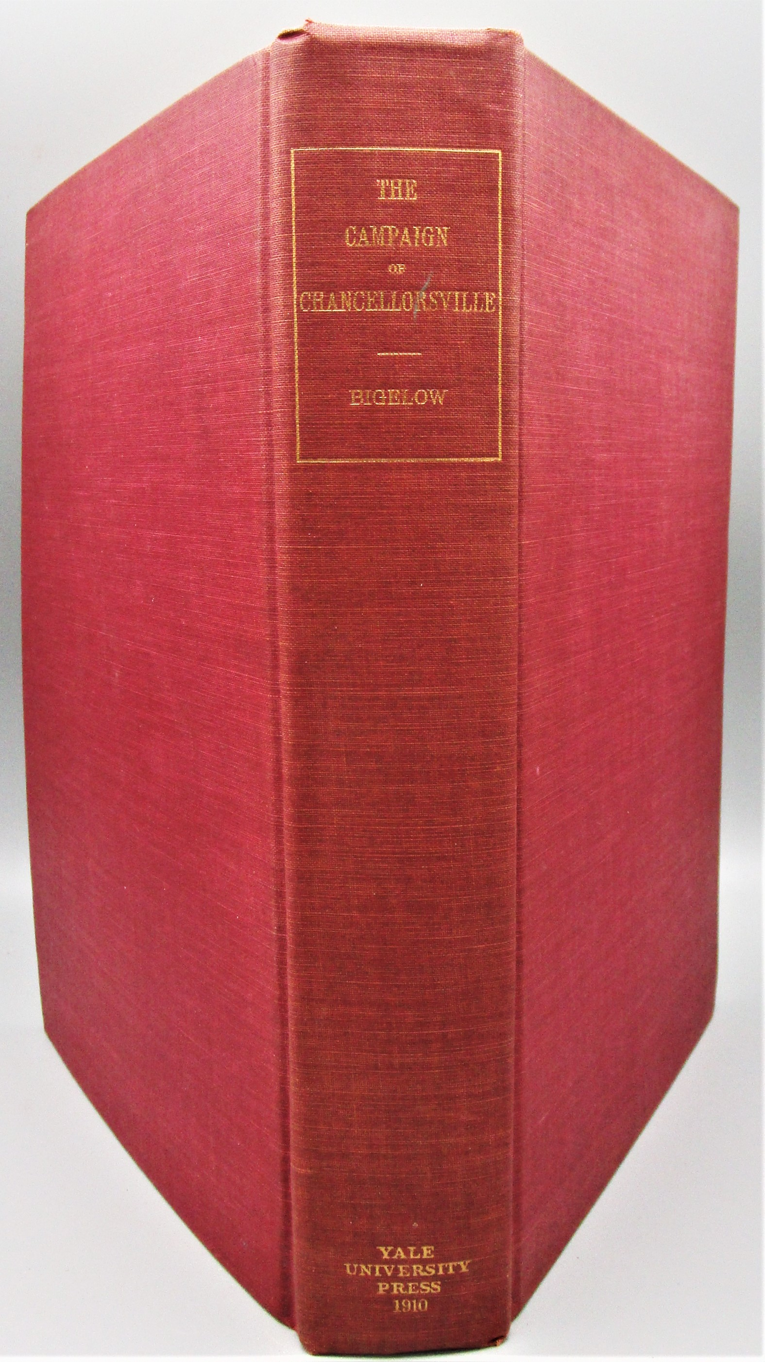 CAMPAIGN OF CHANCELLORSVILLE, by John Bigelow - 1910 [Ltd Ed]