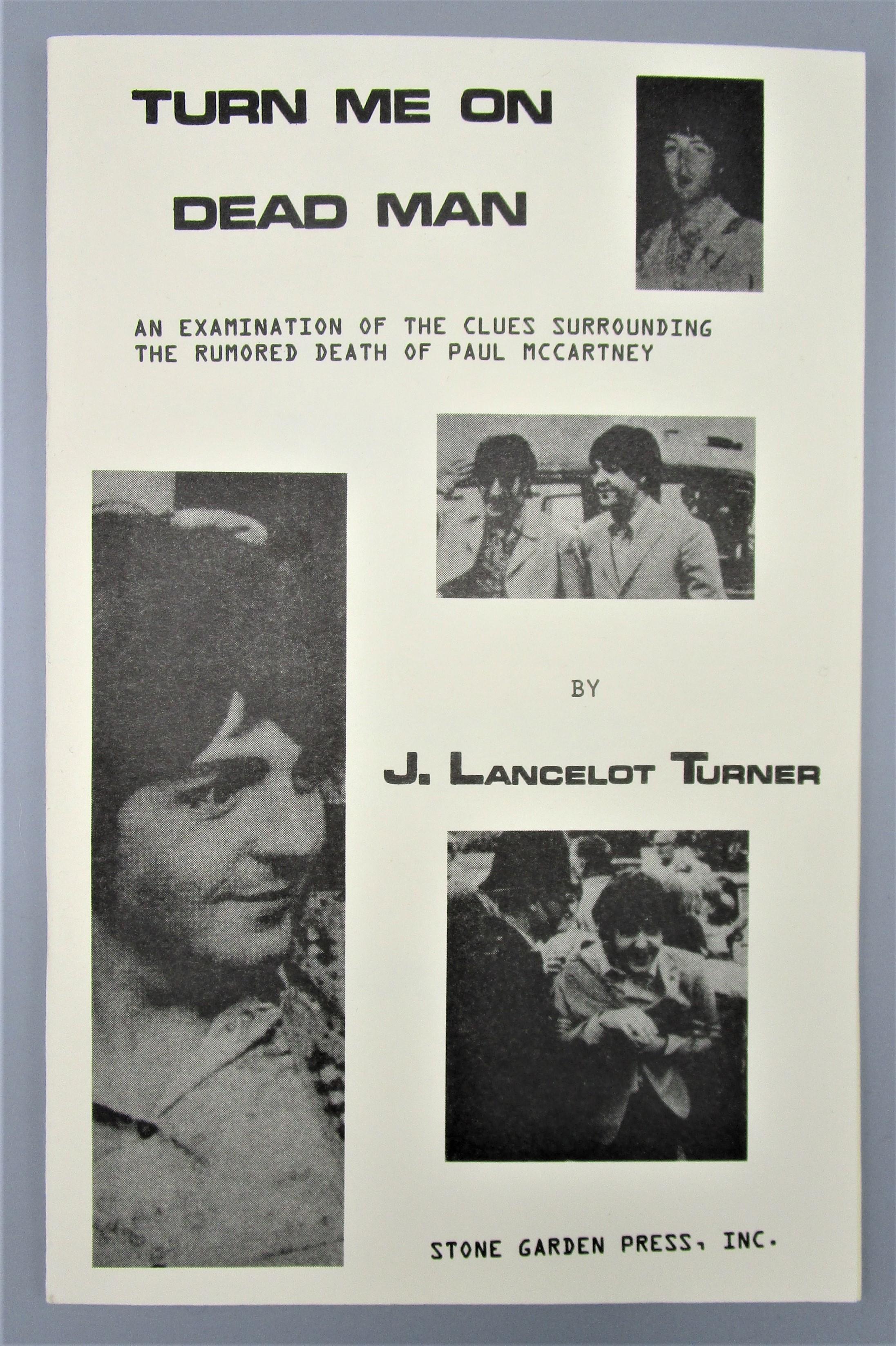 TURN ME ON DEAD MAN, by J. Lancelot Turner - 1969 [1st Ed]