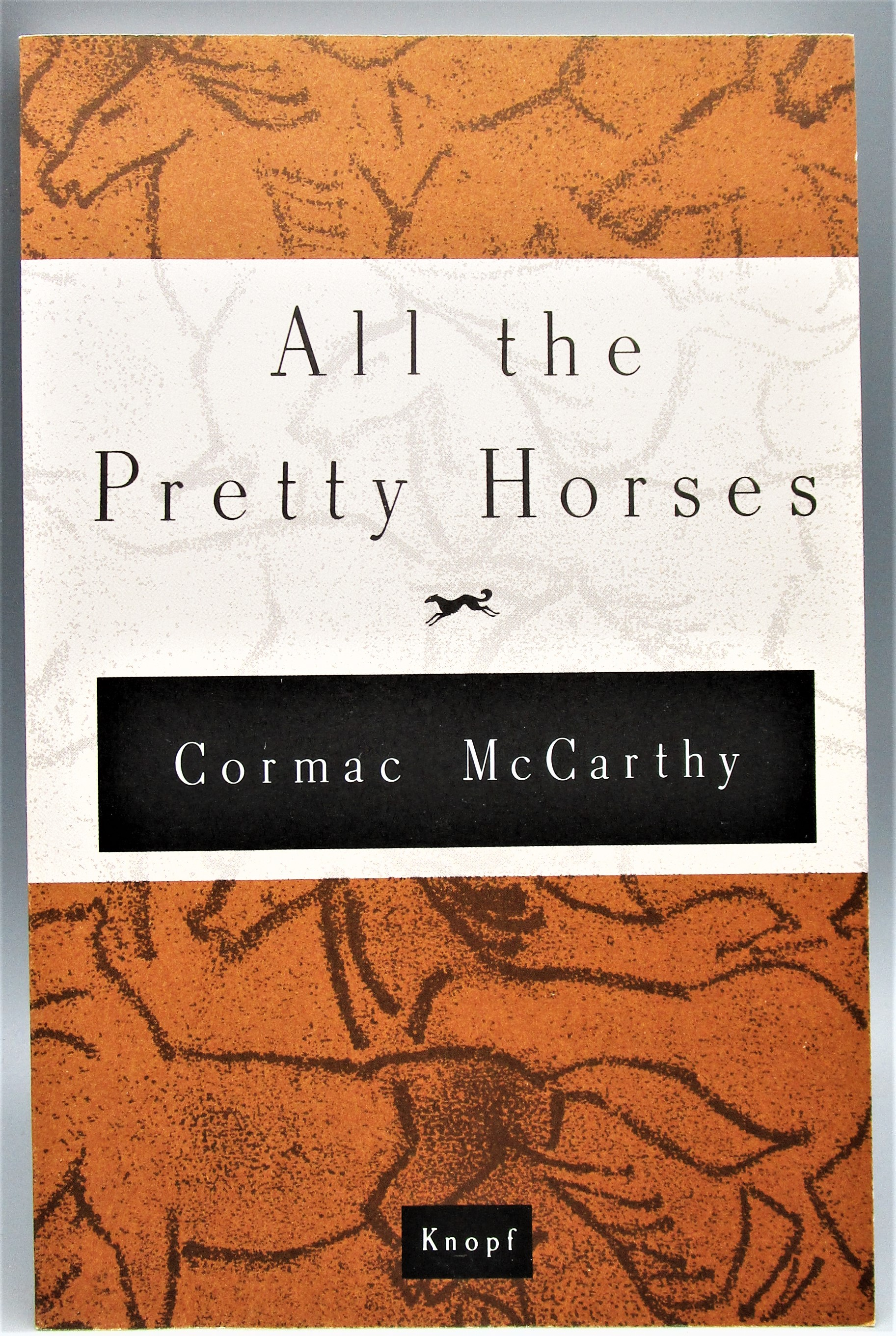 ALL THE PRETTY HORSES, by Cormac McCarthy - 1992 [Signed, Boxed 1st Ed]