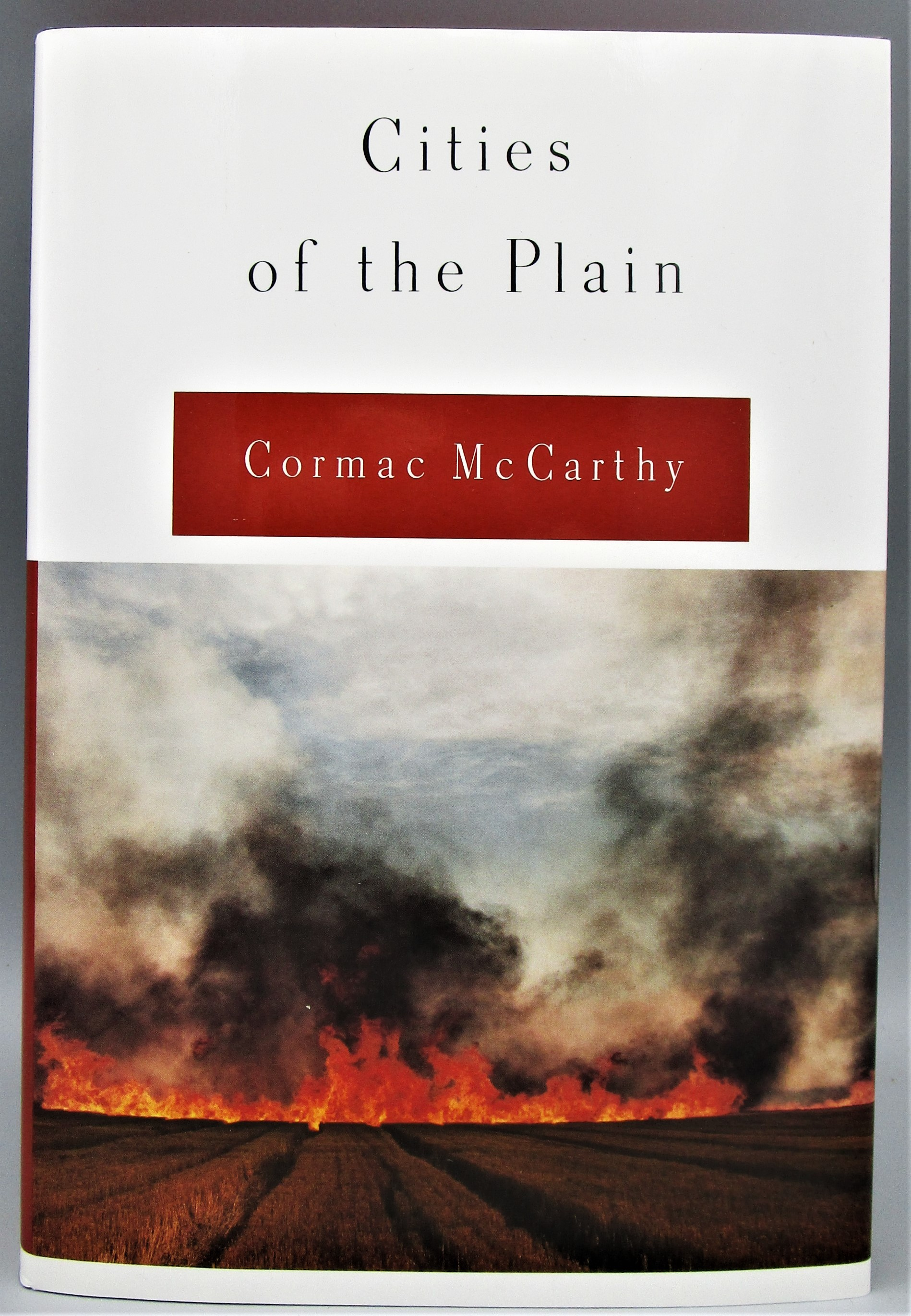 CITIES OF THE PLAIN, by Cormac McCarthy - 1998 [Signed Ltd Ed]