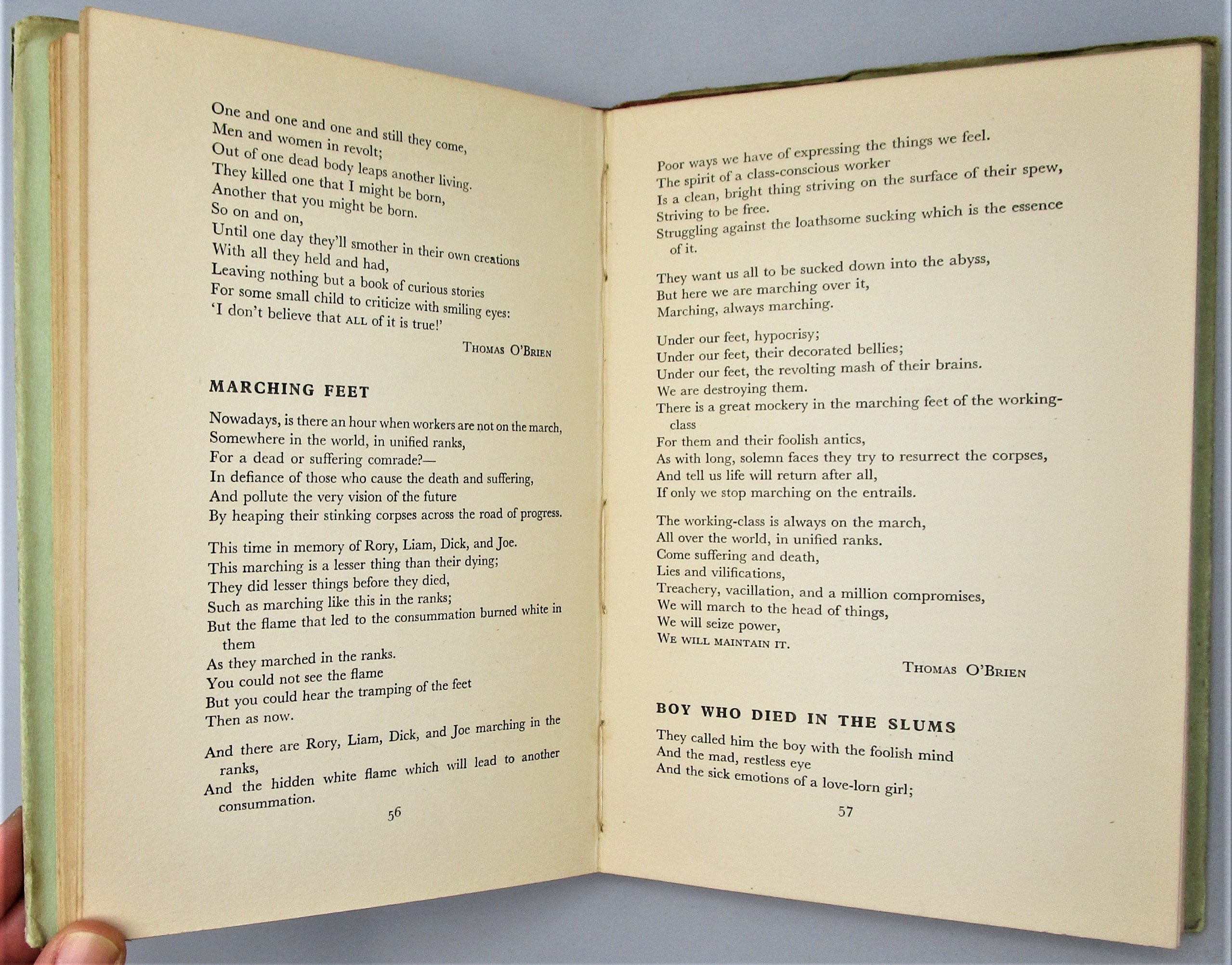 GOOD-BYE, TWILIGHT: SONGS OF THE STRUGGLE IN IRELAND, by  L.H. Daiken; H.A. Kernoff - 1936 [1st Ed]