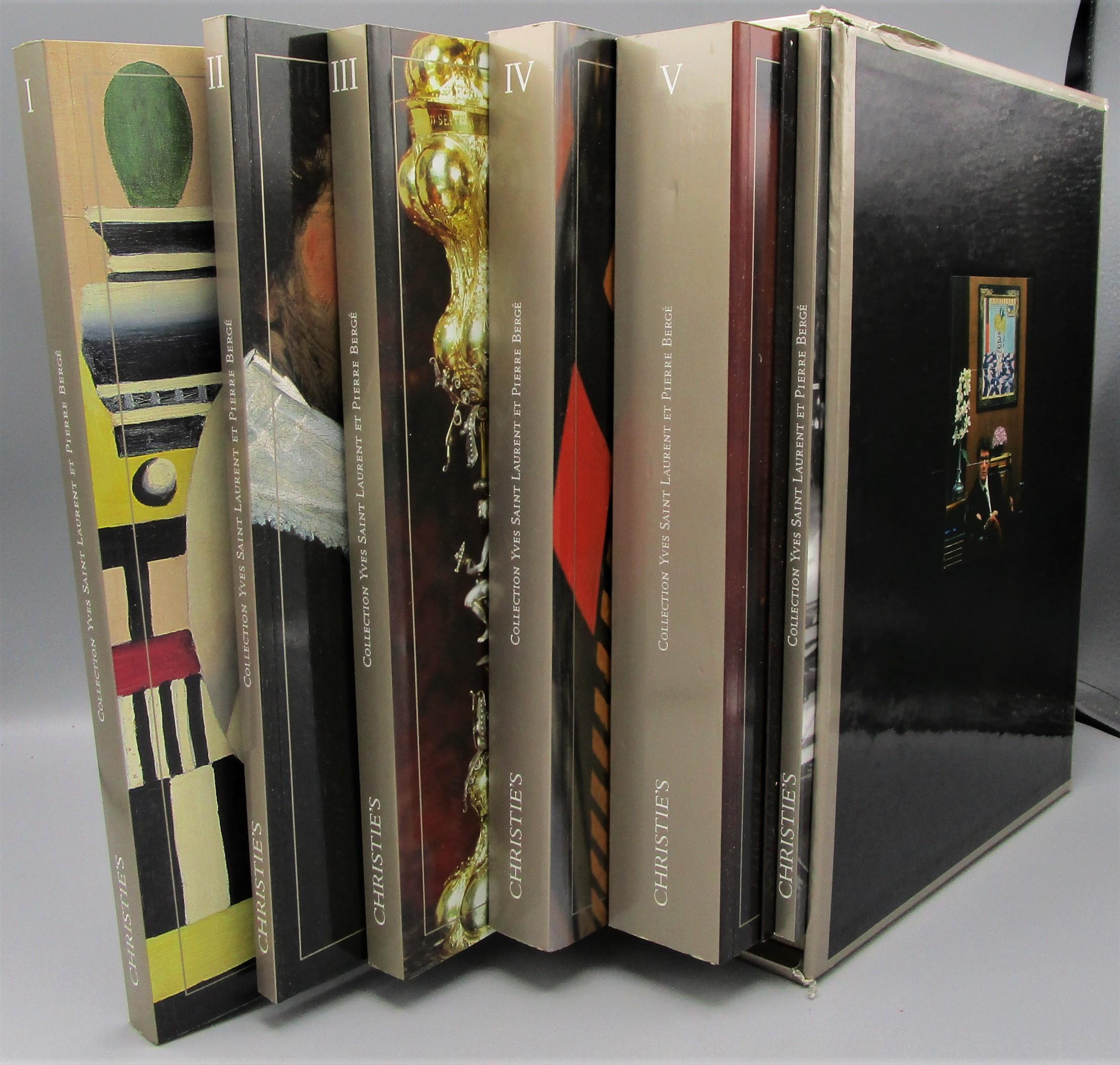 COLLECTION: YVES SAINT-LAURENT ET PIERRE BERGE - 2009 [6 Vols + DVD]