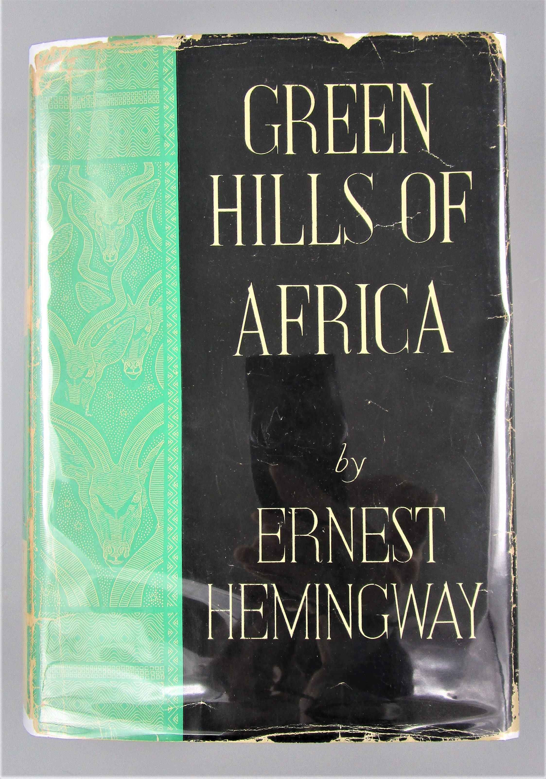 GREEN HILLS OF AFRICA, by Ernest Hemingway - 1935
