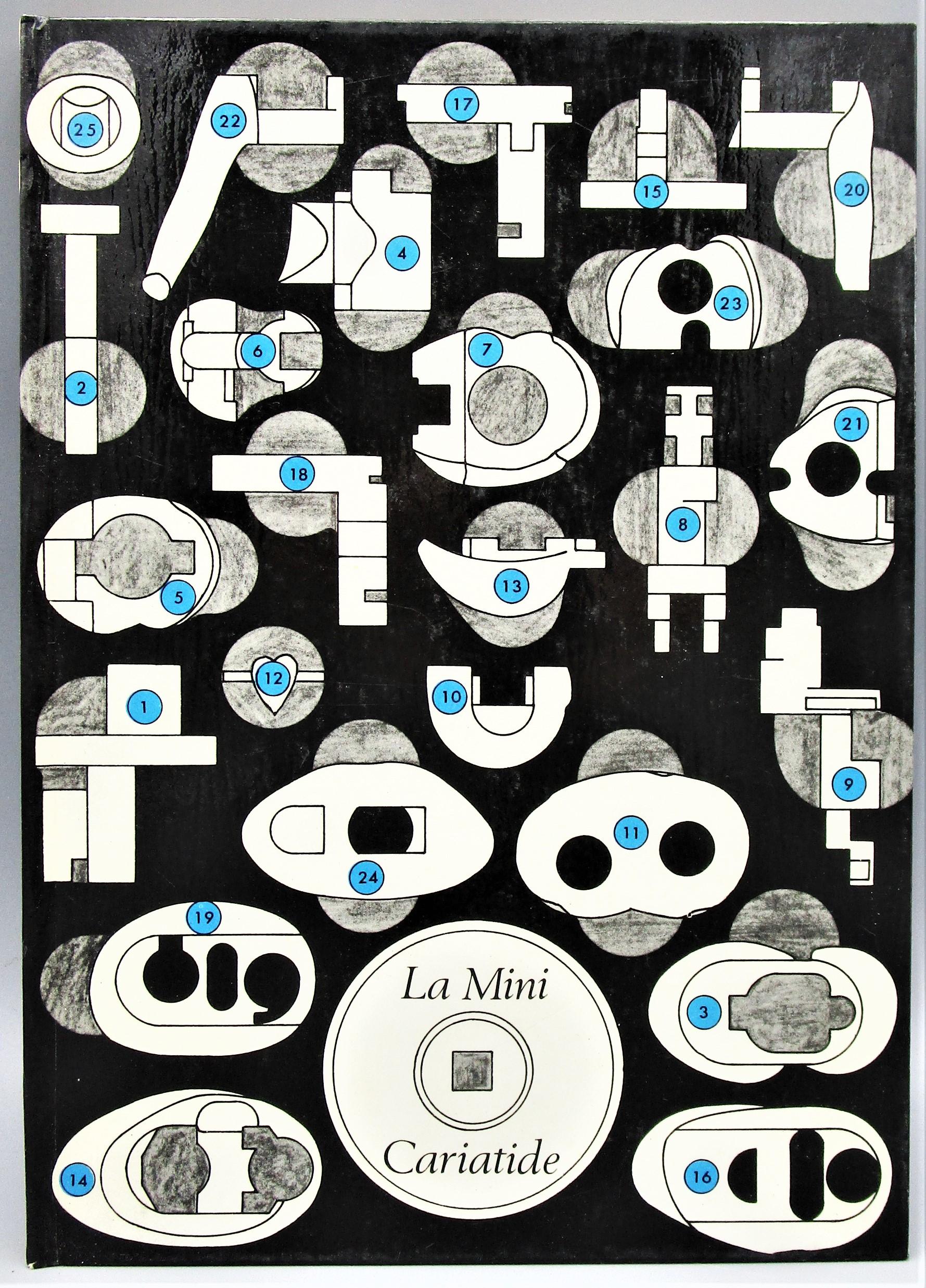 LA MINI-CARIATIDE III, by Berrocal - 1971