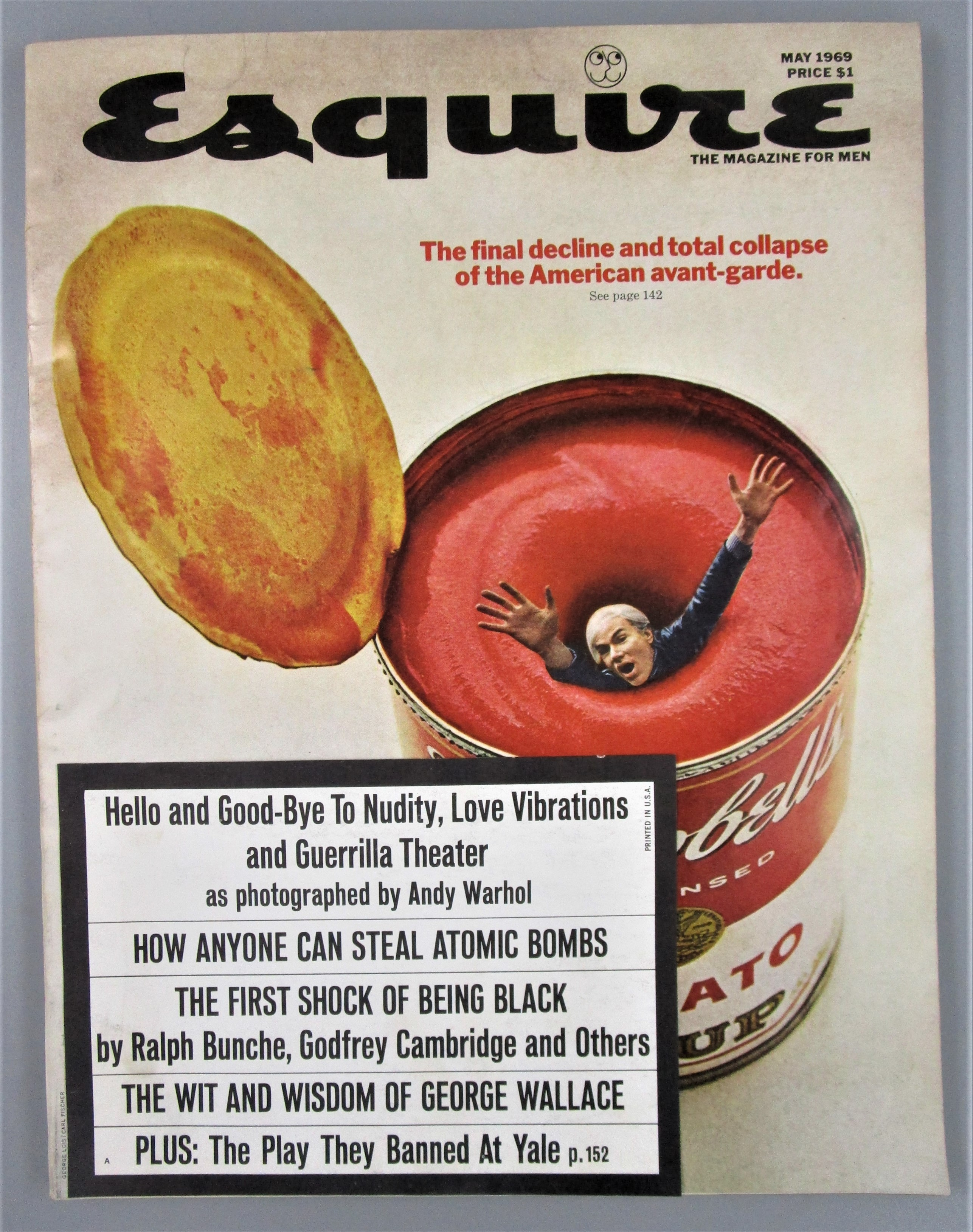 ESQUIRE: THE MAGAZINE FOR MEN - May 1969 [V.71; No.5]