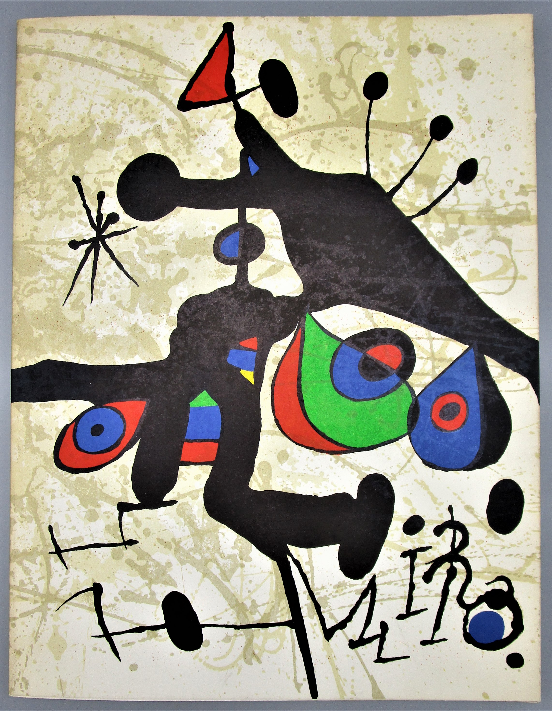 MIRO: SOBRE PAPEL, by Matisse Gallery - 1972 [Original Litho]