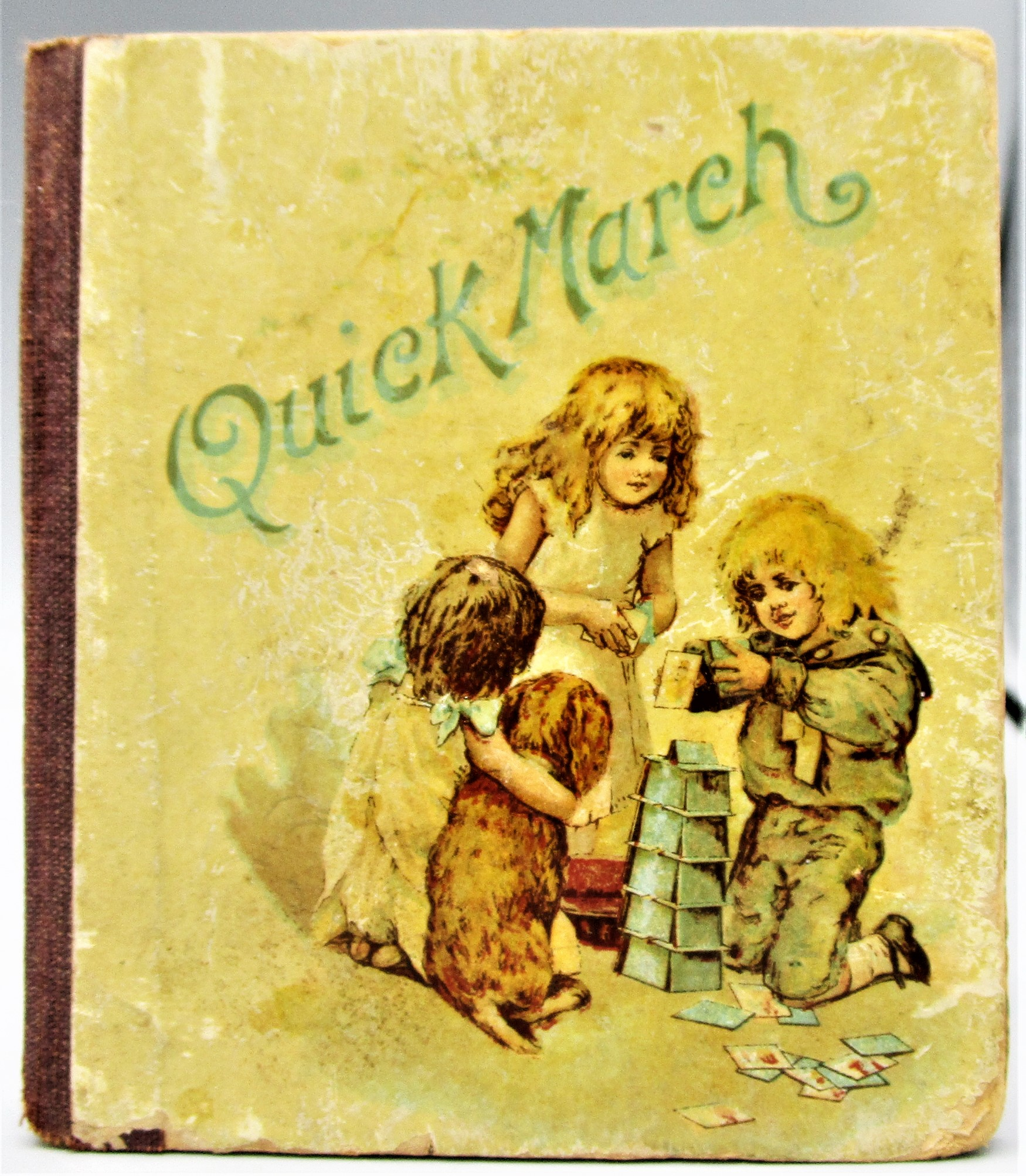 QUICK, MARCH!, by L. Haskell - 1890