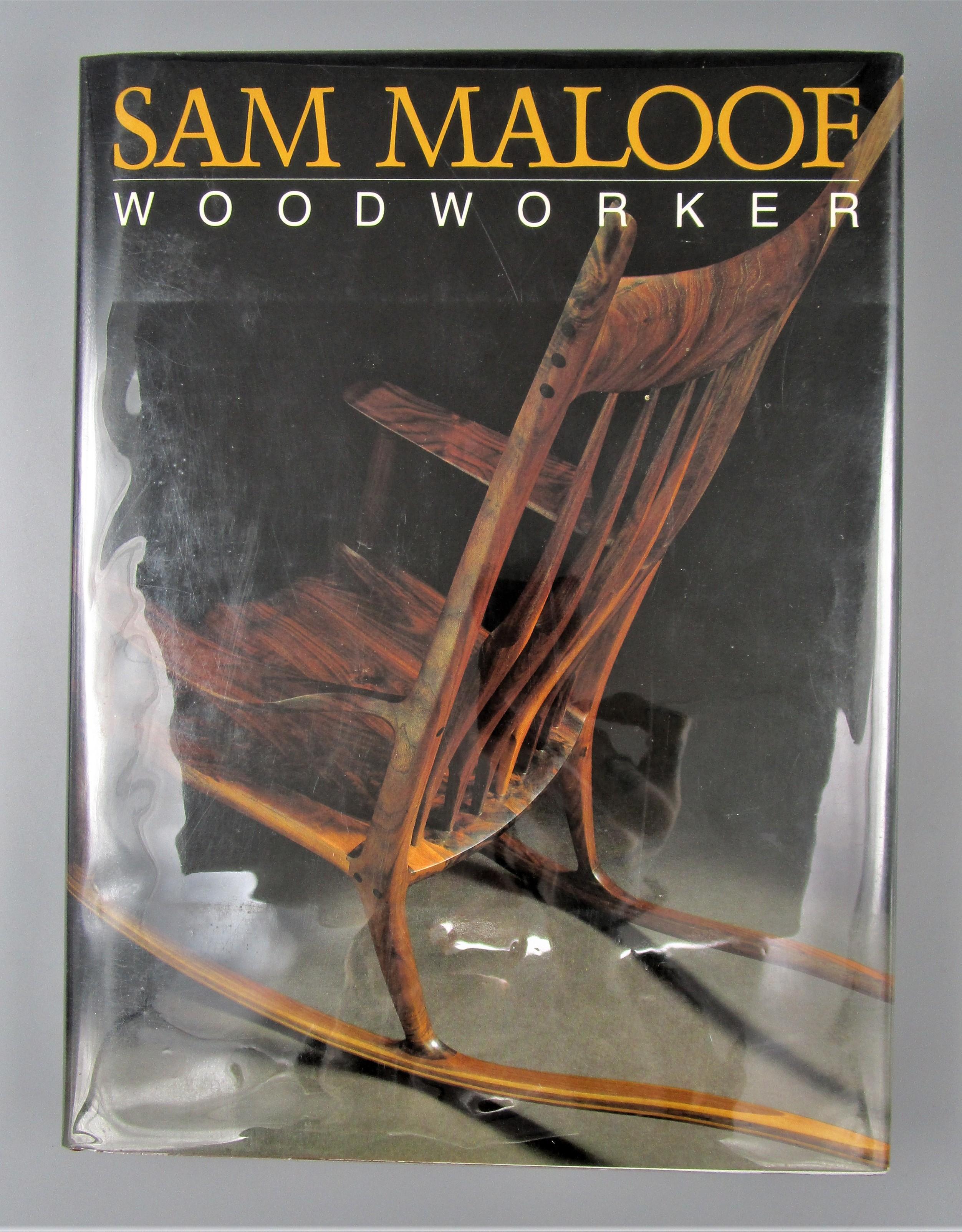 SAM MALOOF: WOODWORKER, by Sam Maloof - 1983 [1st Ed/Signed]
