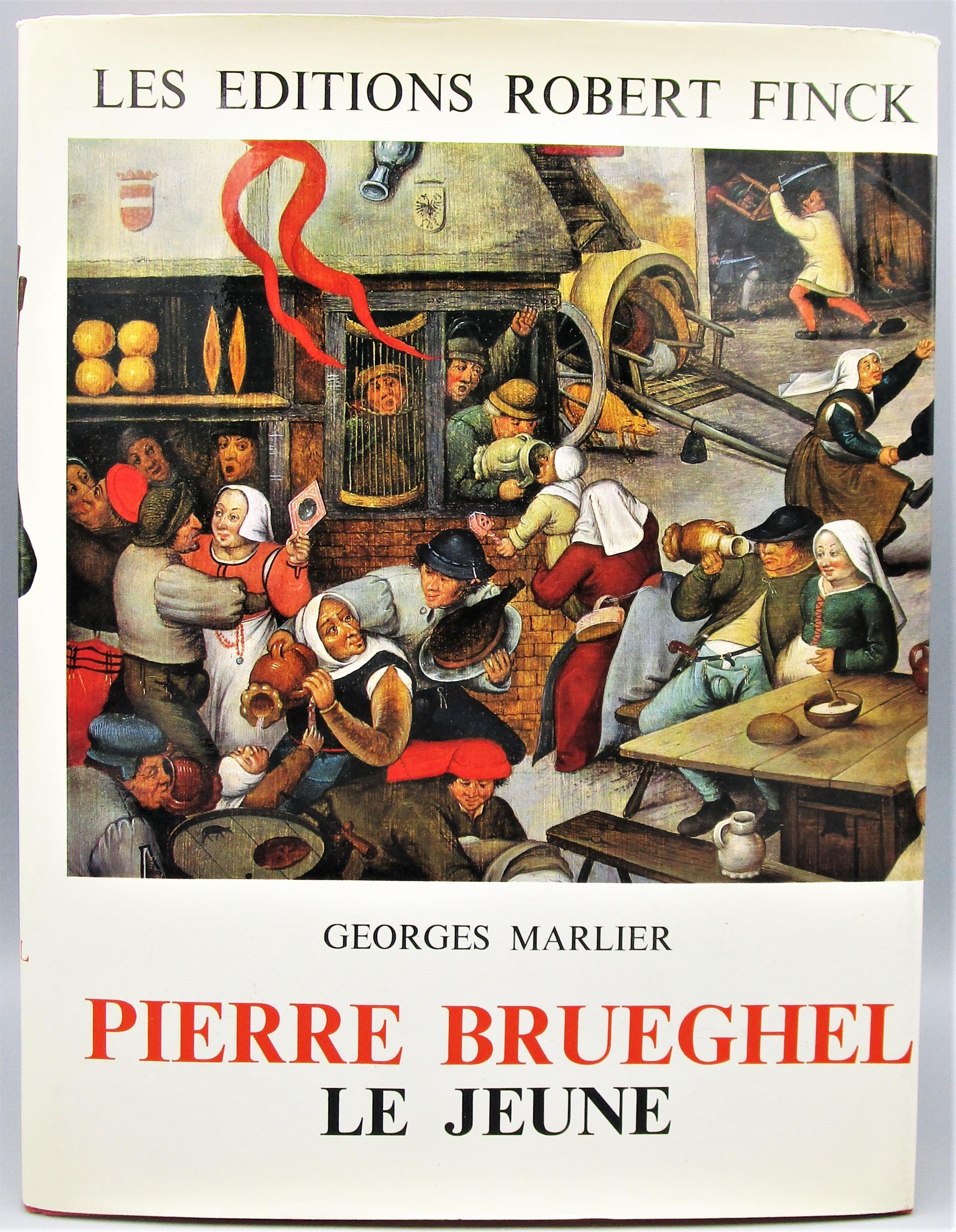 PIERRE BRUEGHEL LE JEUNE, by Georges Marlier - 1969