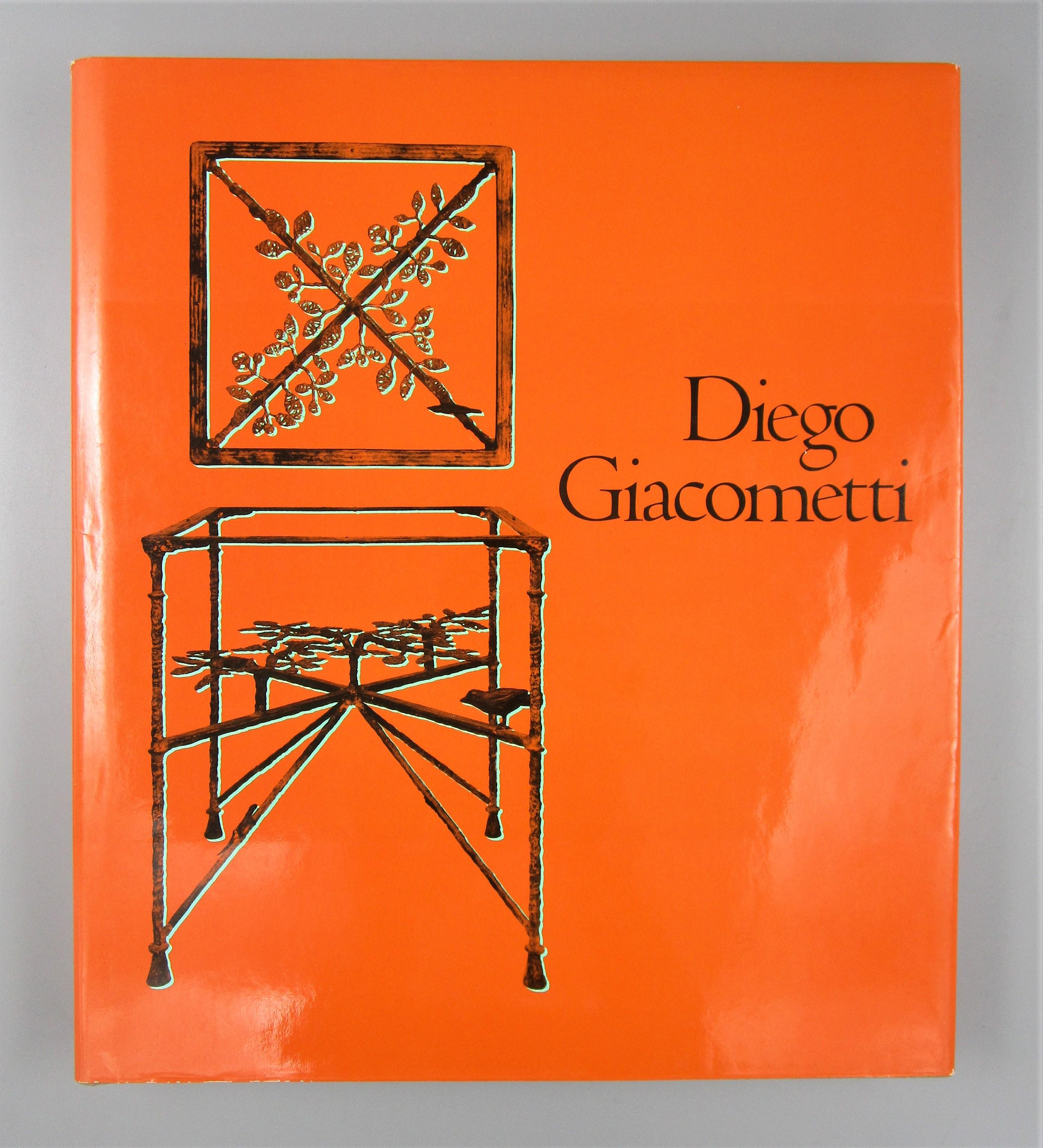 DIEGO GIACOMETTI, by Daniel Marchesseau [1st Ed] - 1986