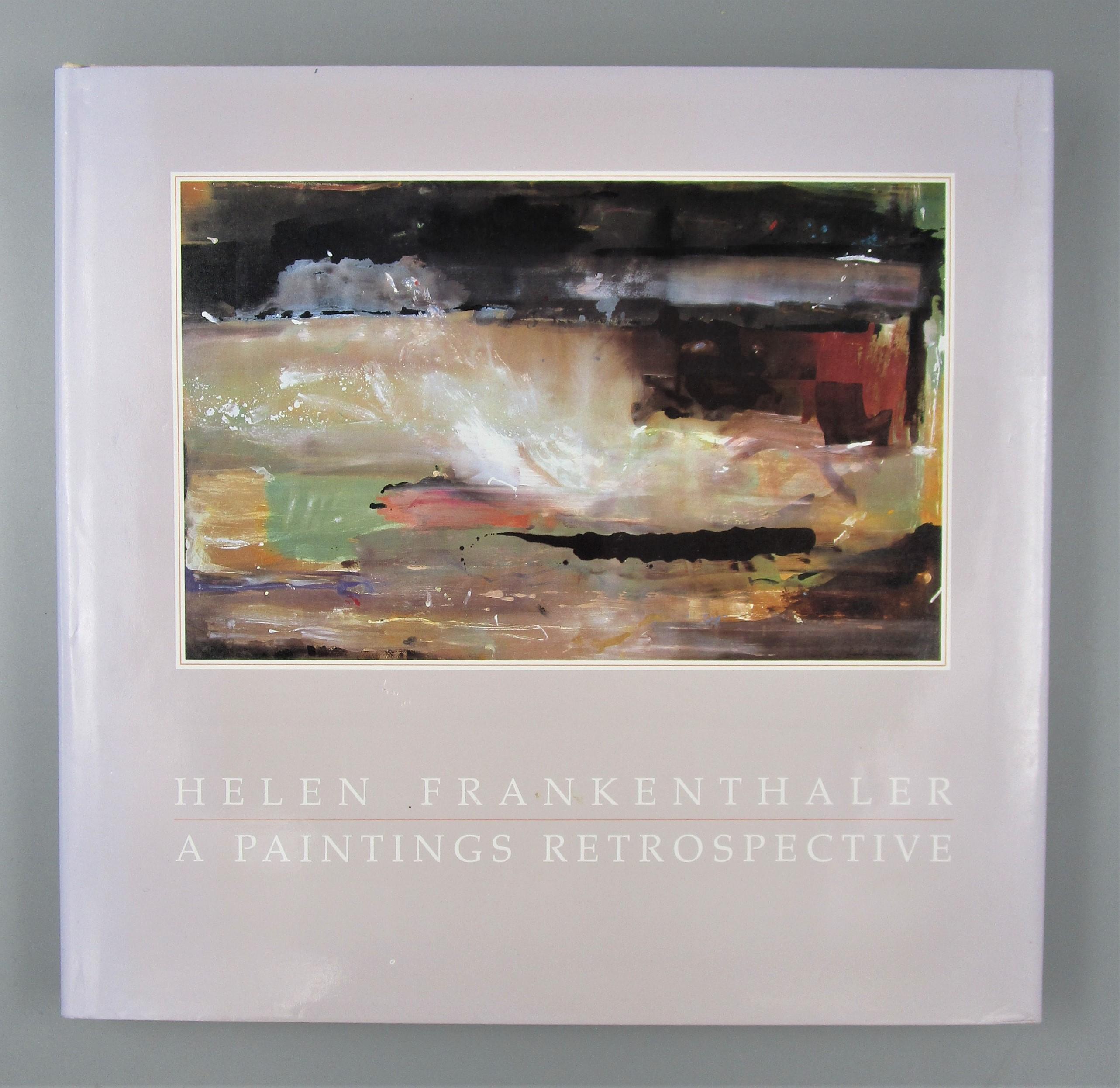 HELEN FRANKENTHALER: A PAINTINGS RETROSPECTIVE, by E.A. Carmean Jr. - 1989