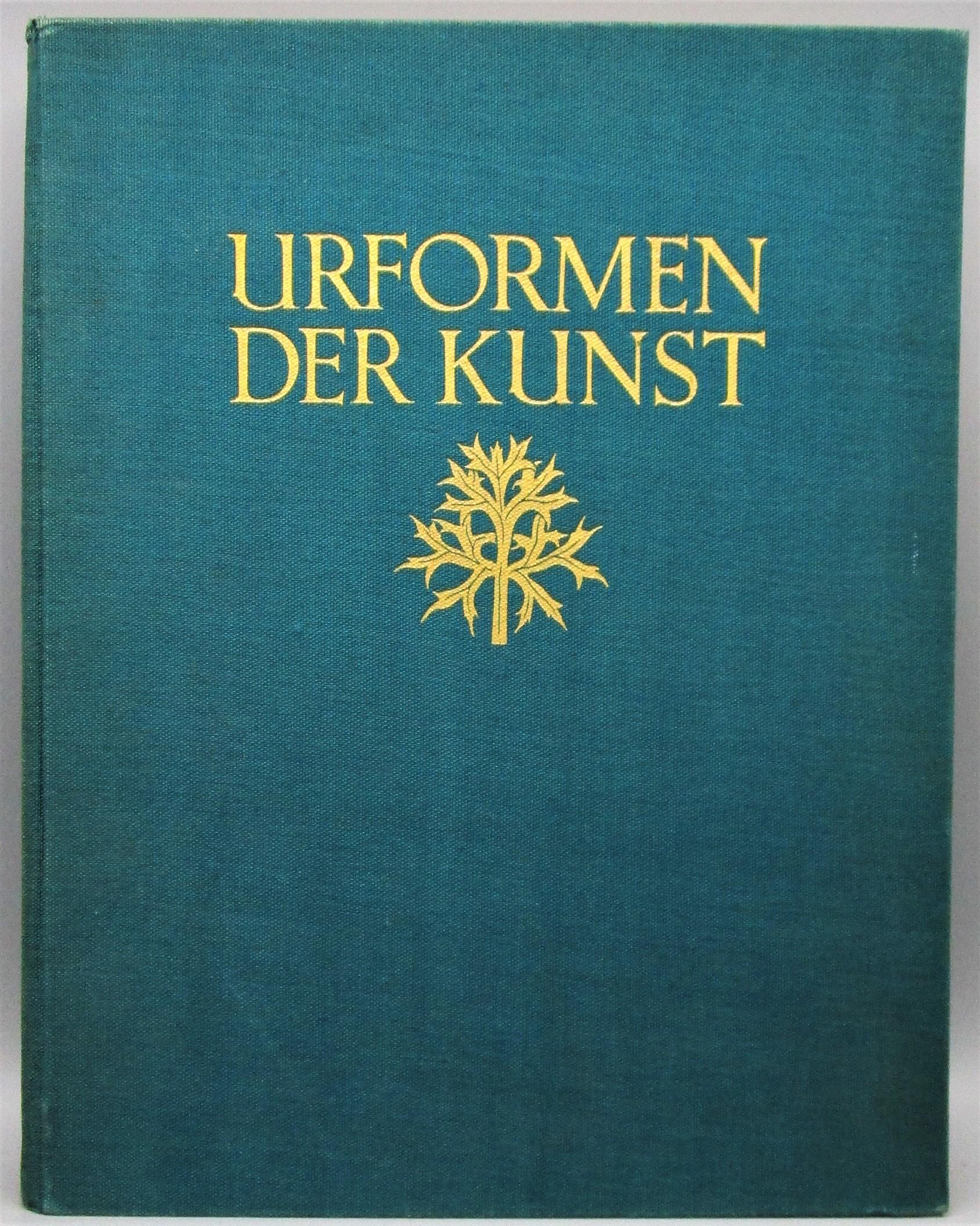 URFORMEN DER KUNST, by Karl Blossfeldt - 1928 [1st Ed]