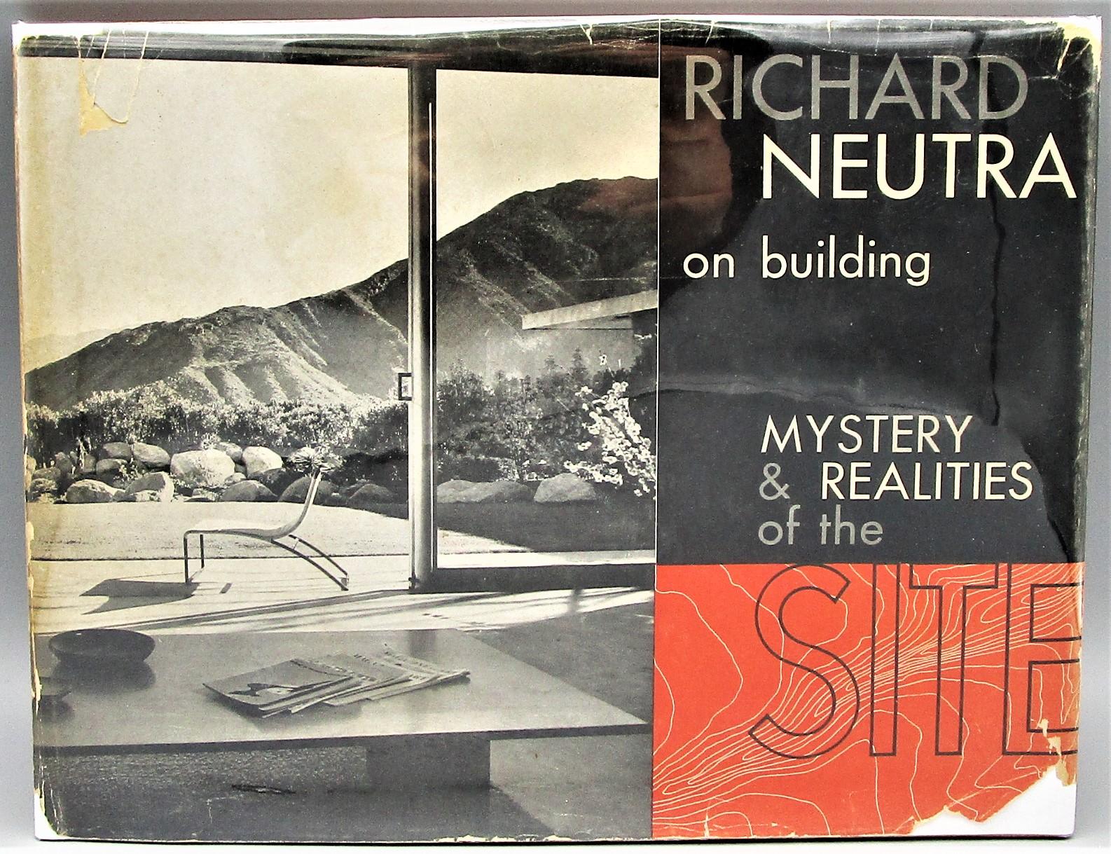RICHARD NEUTRA ON BUILDING - 1951 [1st Ed]