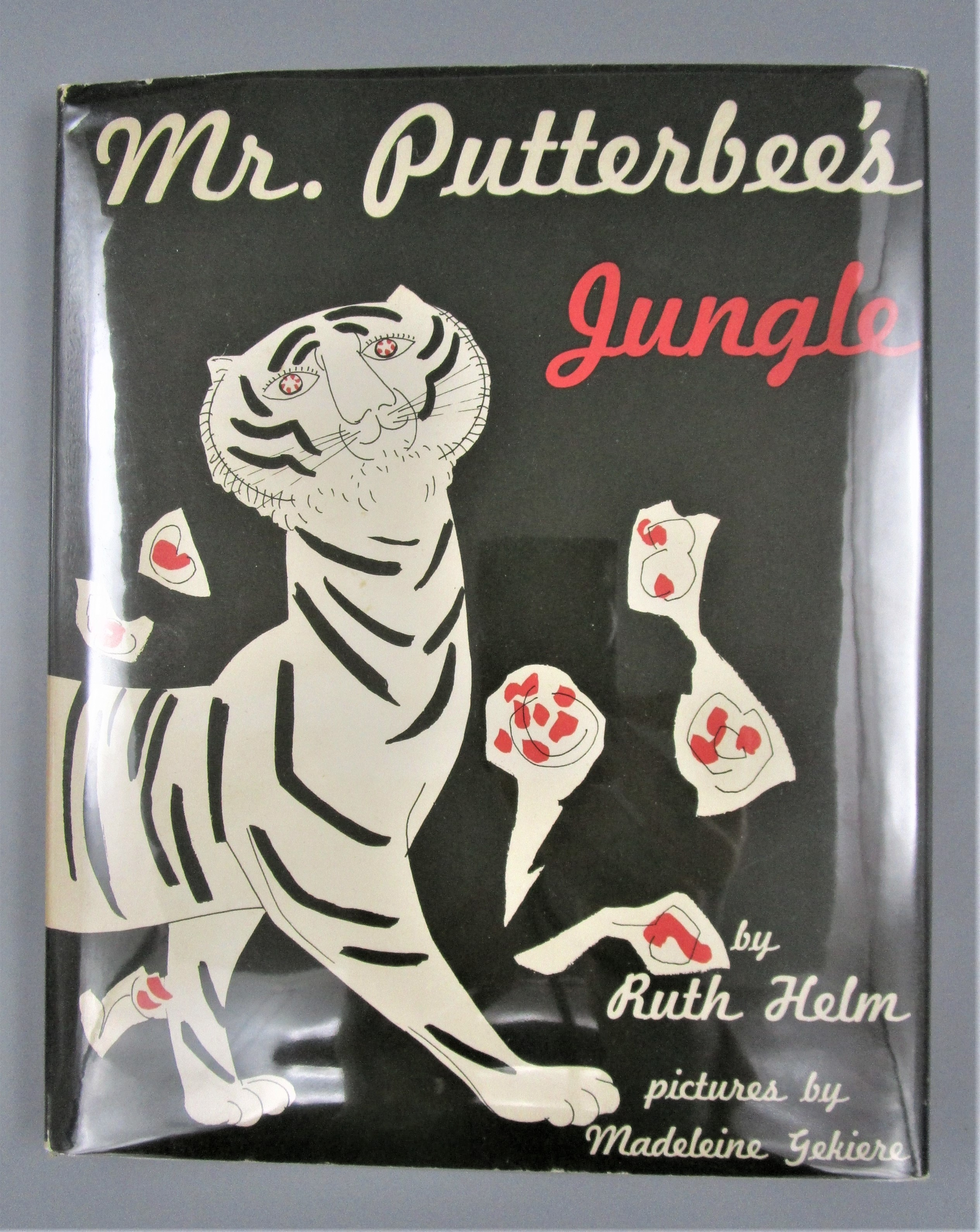 MR. PUTTERBEE'S JUNGLE, by Ruth Helm & Madeleine Gekiere - 1953 [1st Ed]