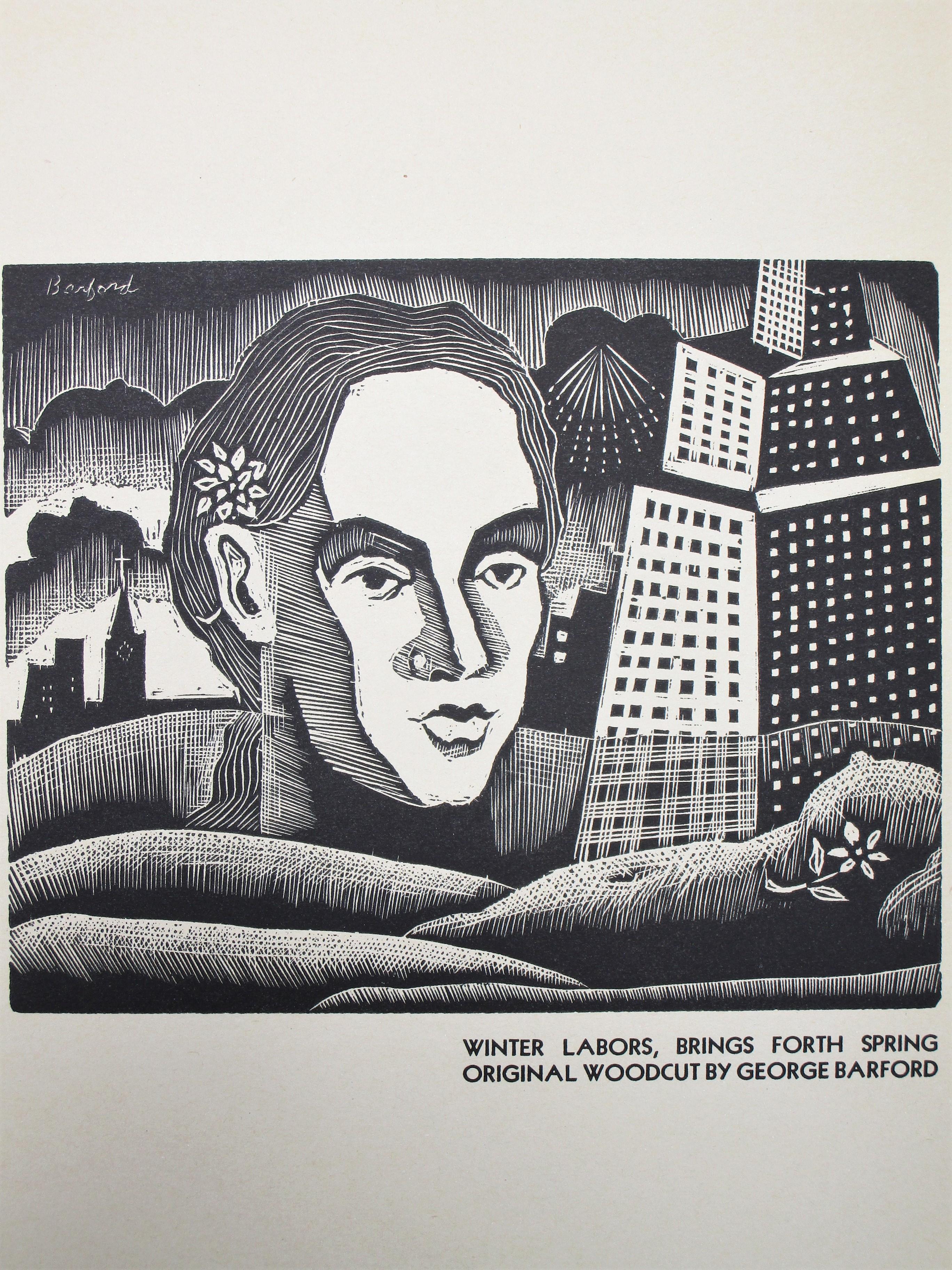 AMERICAN BLOCK PRINT CALENDAR - 1937 [Weekly]