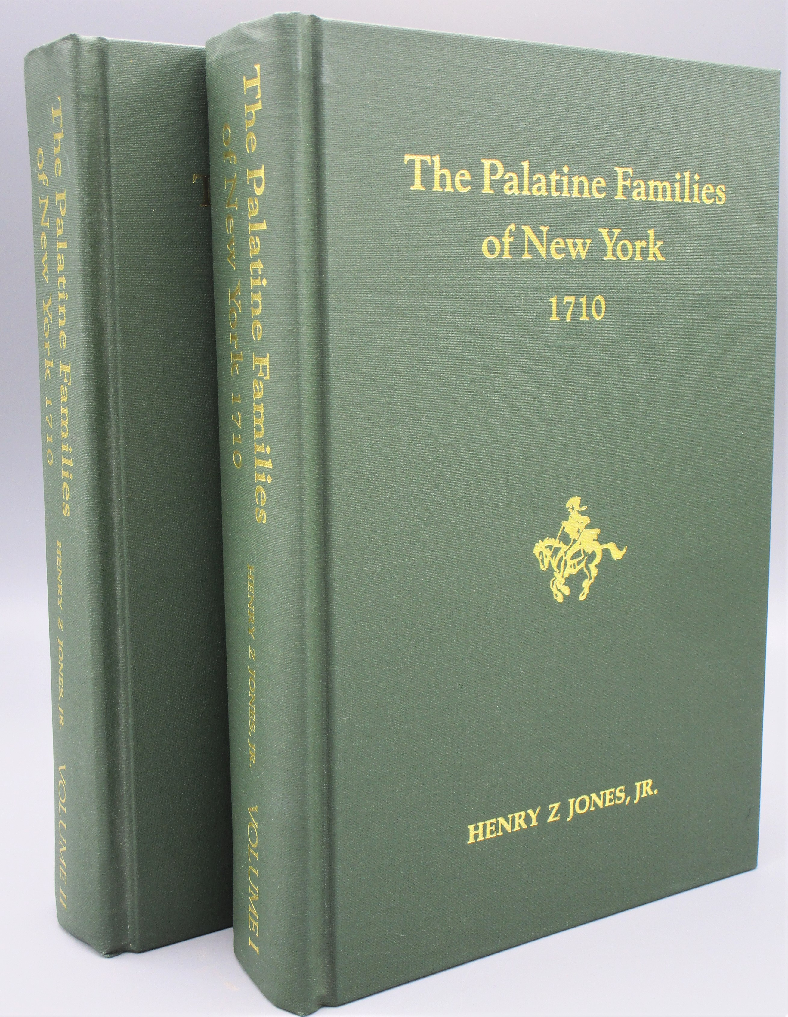THE PALATINE FAMILIES OF NEW YORK 1710, by Henry Z. Jones, Jr. - 1985