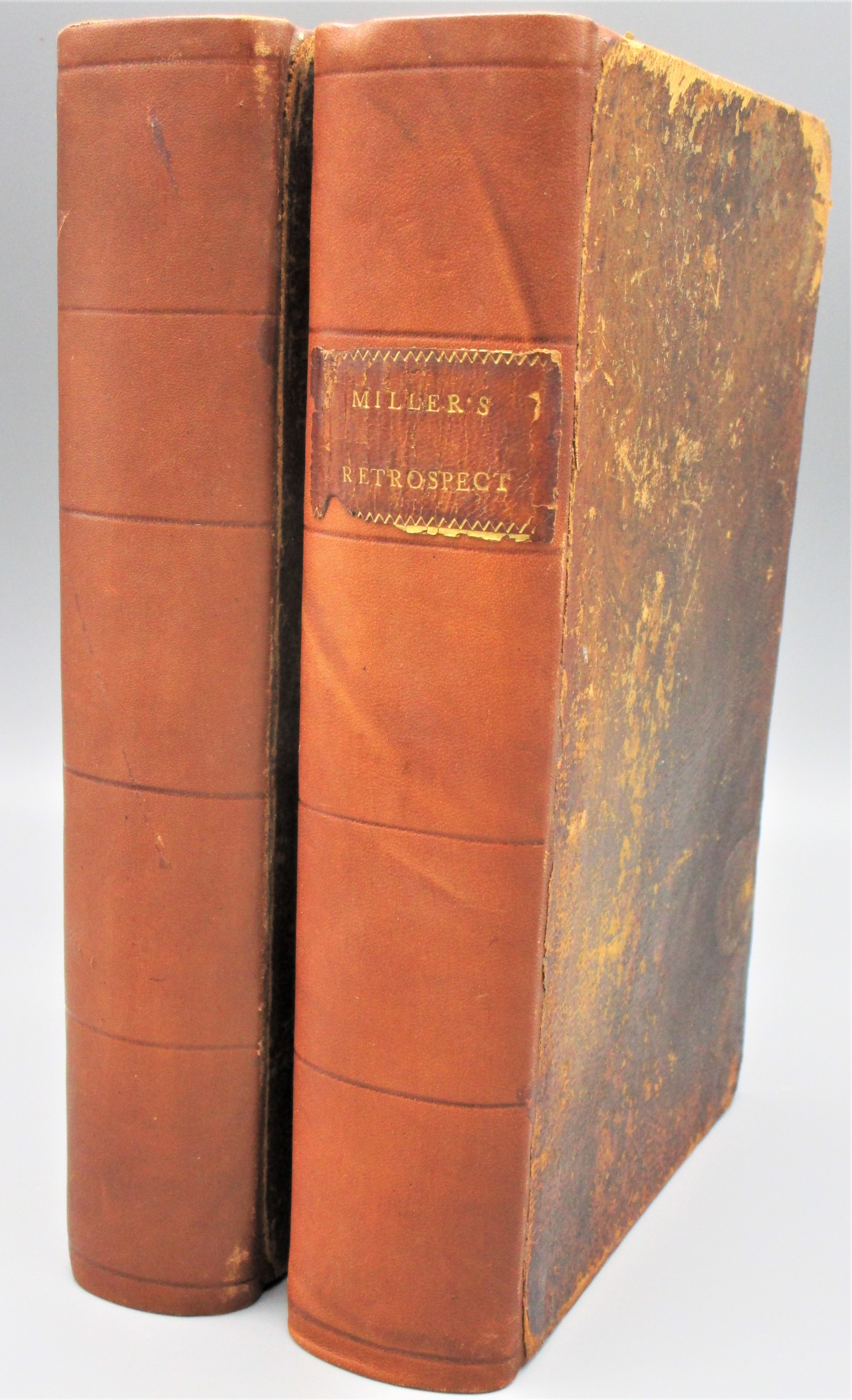 A BRIEF RETROSPECT OF THE EIGHTEENTH CENTURY, by Samuel Miller - 1803 [2 vols]