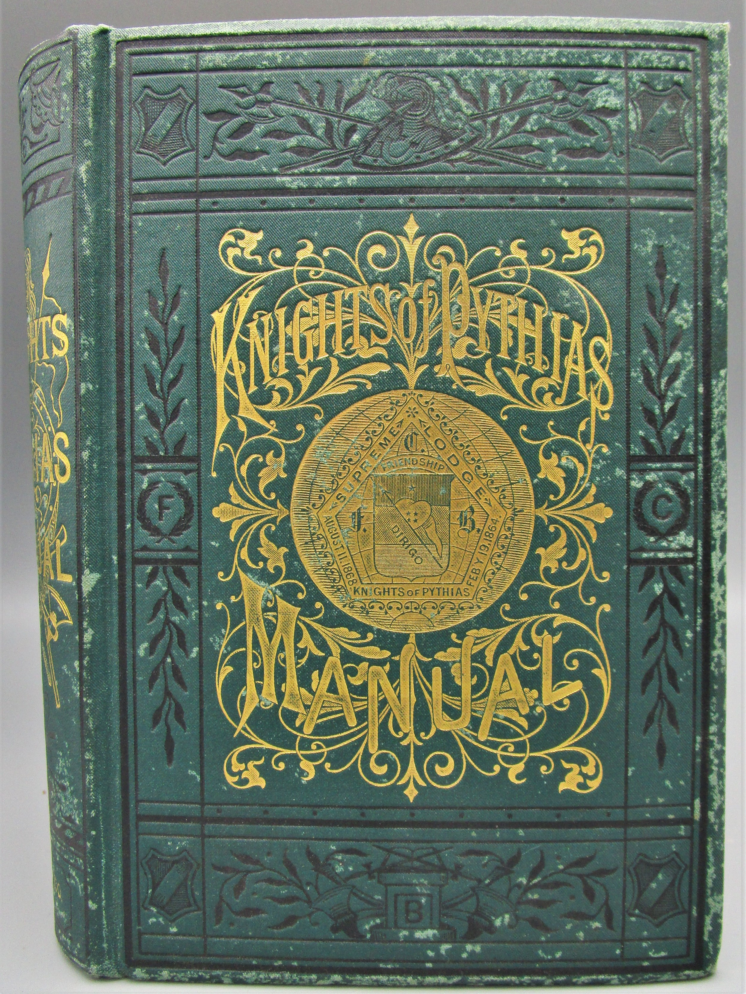 KNIGHTS OF PYTHIAS, by John Van Valkenburg - 1878