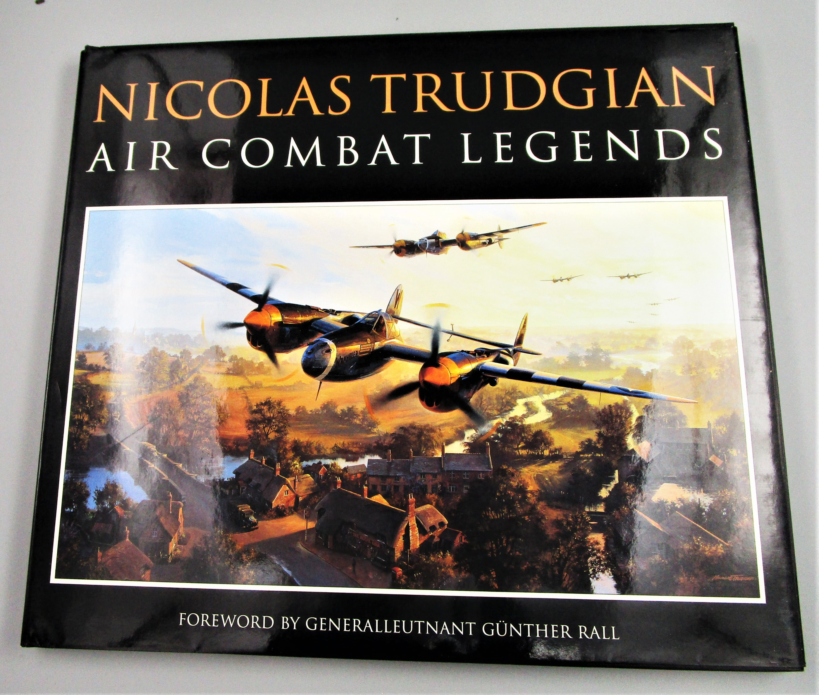 AIR COMBAT LEGENDS, by Nicolas Trudgian - 1998 SIGNED