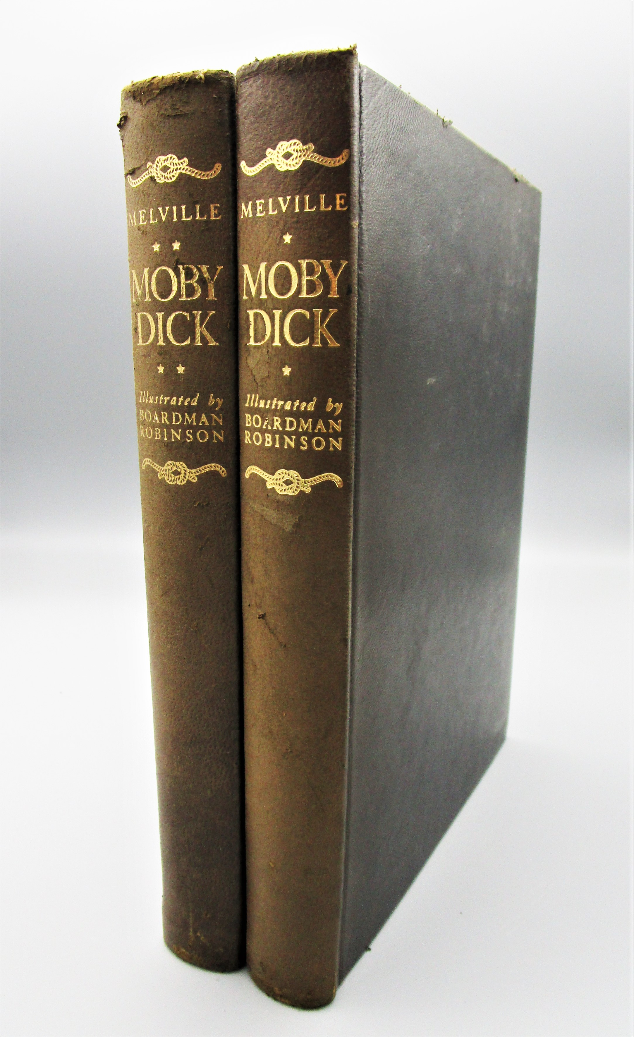 MOBY DICK, by Herman Melville - 1943 SIGNED Limited Edition