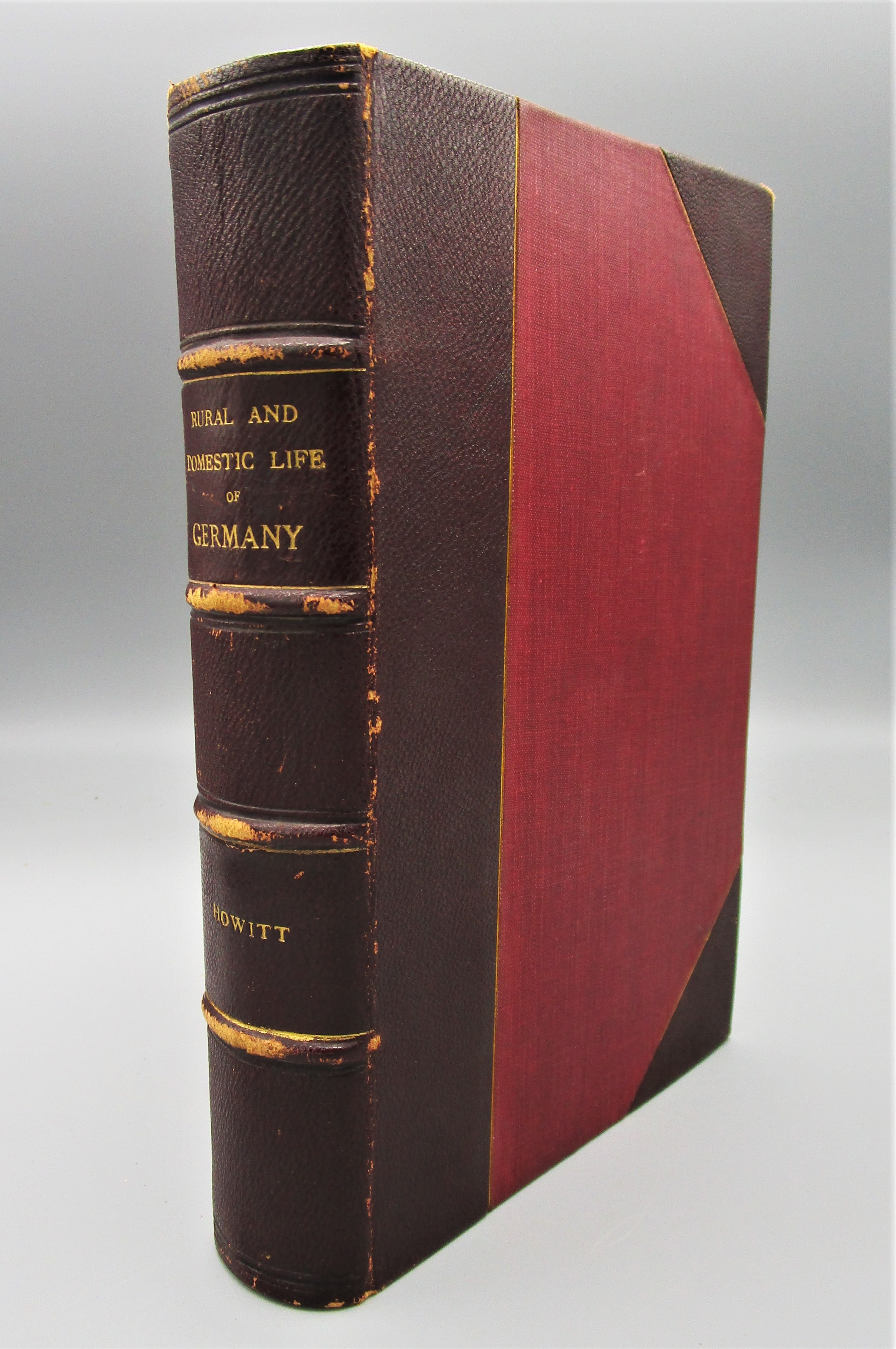 THE RURAL AND DOMESTIC LIFE OF GERMANY, by William Howitt - 1842
