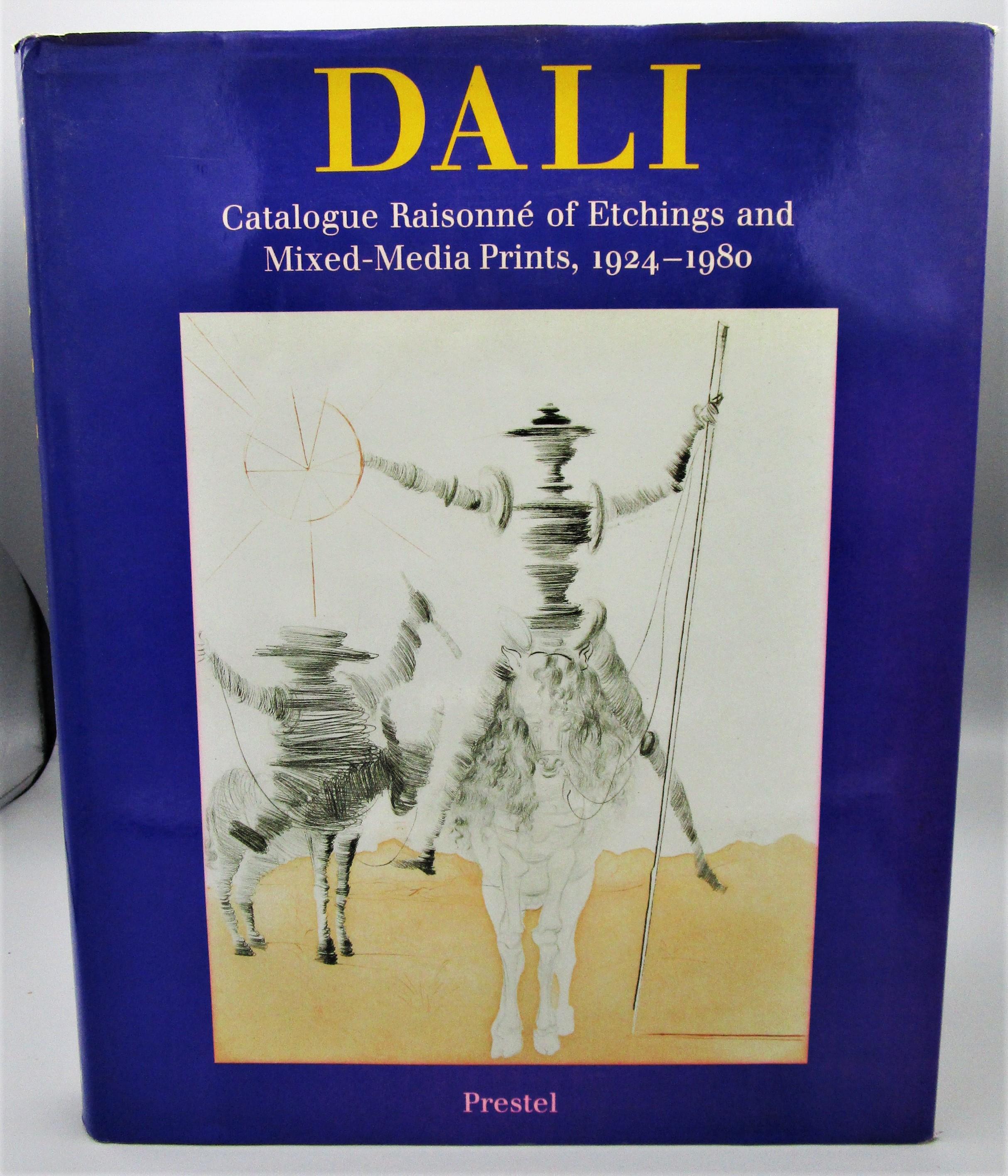 DALI: CATALOGUE RAISONNE OF ETCHINGS & MIXED-MEDIA PRINTS 1924-1980