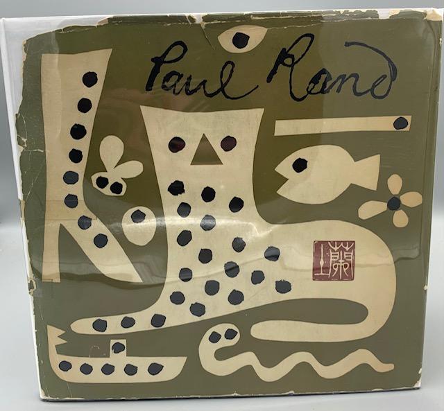 PAUL RAND: HIS WORK FROM 1946 TO 1958, by Yusaku Kamekura - 1959 [First Edition]