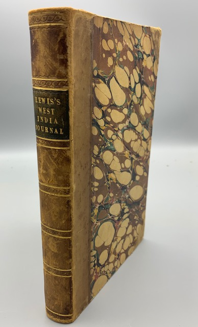 JOURNAL OF A WEST INDIA PROPRIETOR, by Matthew Gregory Lewis - 1834 [1st Edition]