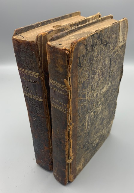 THE TRAVELS OF MIRZA ABU TALEB KHAN IN ASIA, AFRICA, AND EUROPE - 1810 [1st Edition]
