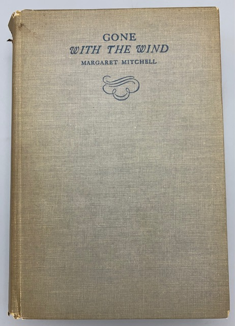 GONE WITH THE WIND, by Margaret Mitchell - 1936 [2nd Printing]