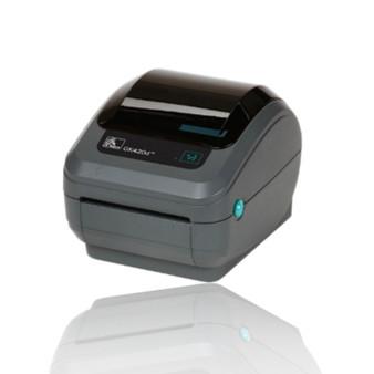 GK420D USB/ETH Printer. Printer Side view. Barcode-scanners.com.au
