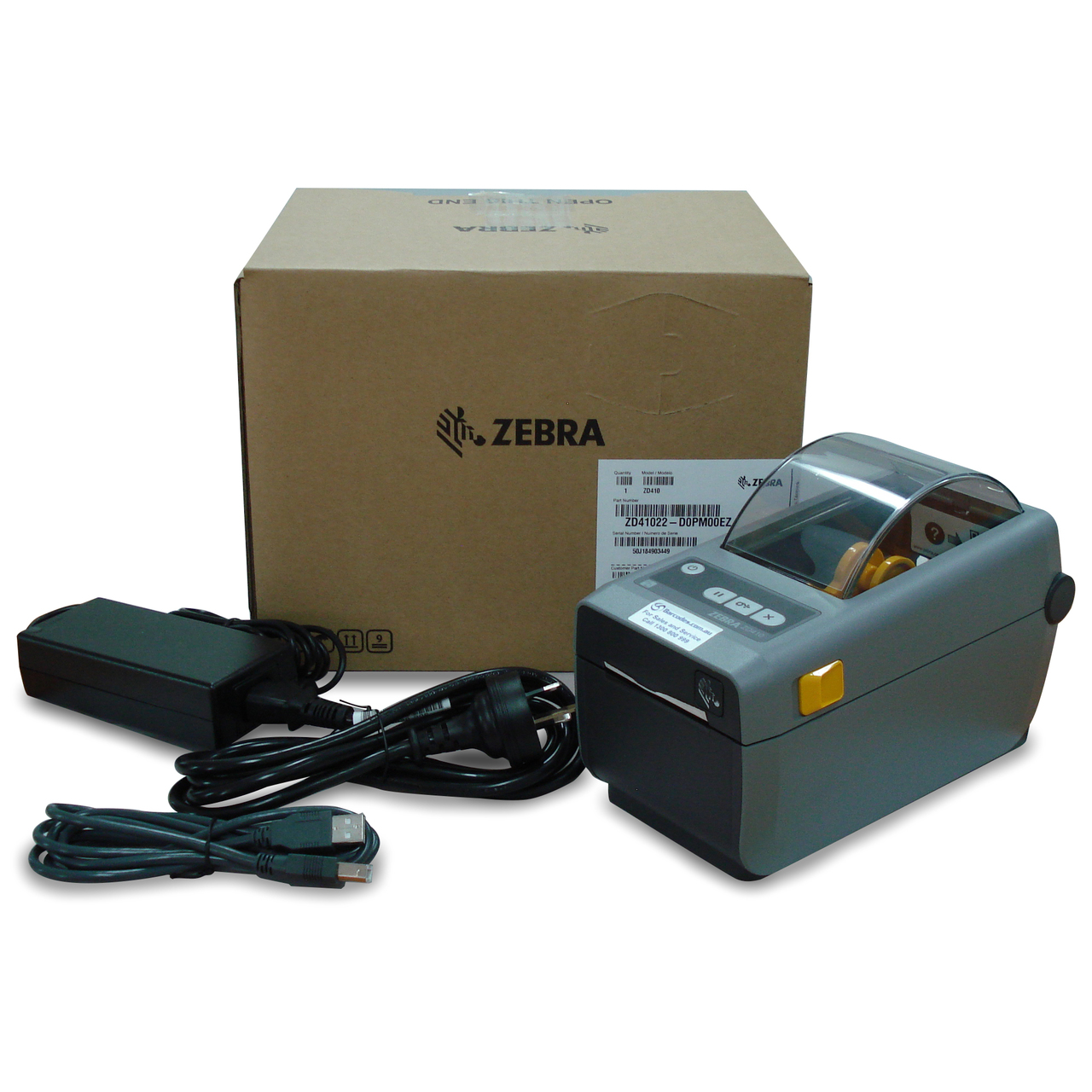 Zebra ZD410 Desktop Printer- USB-Bluetooth
