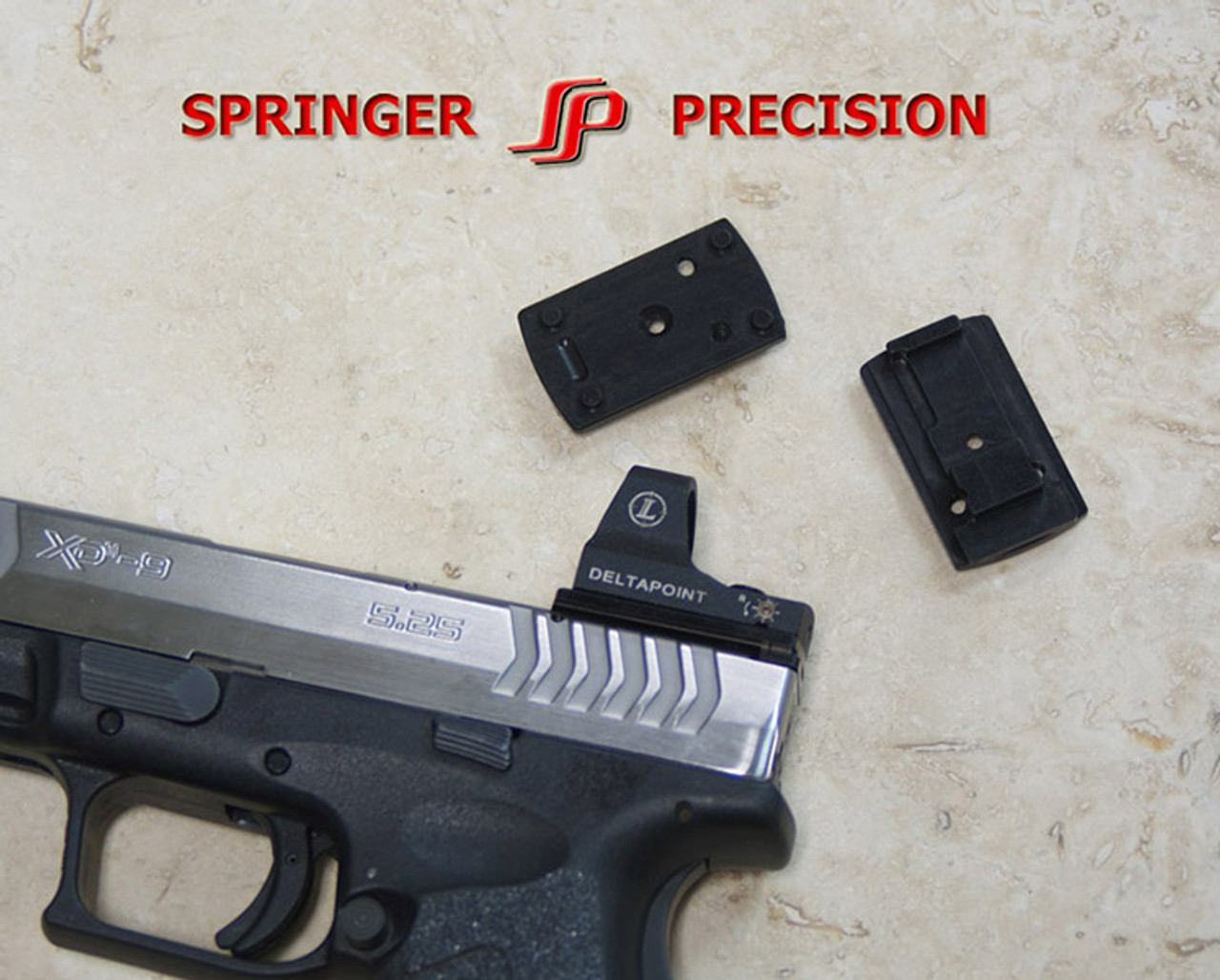 Springer Precision Sight Mount for Springfield XDM 5 25 with Leupold Delta  Point or J Point