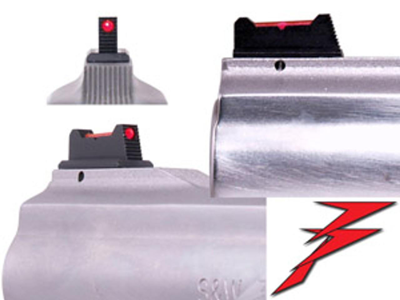 Dawson Precision S&W Pinned Fiber Optic Front Sights