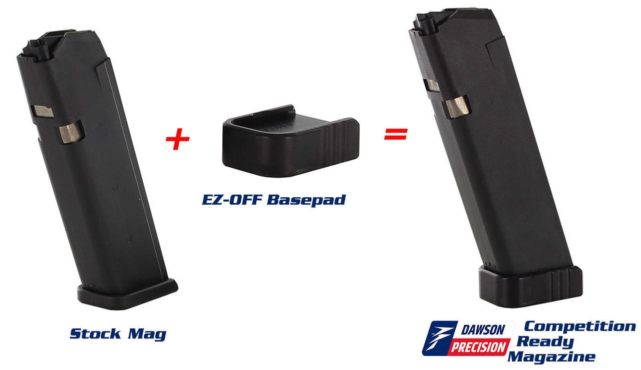 Glock 9mm 10Rd Dawson Competition Ready Magazine Kit
