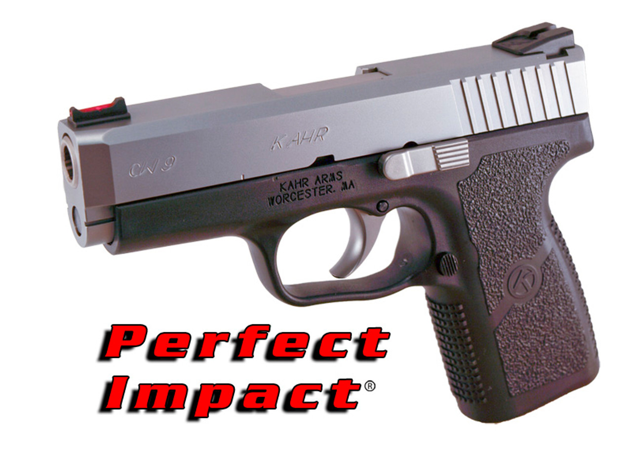 Demo Kahr Arms CW9 w/Installed DP Perfect Impact Sight Set, Optic