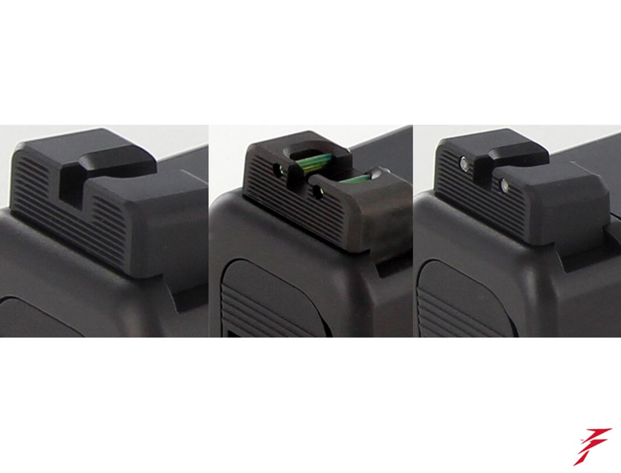 Dawson Precision Glock MOS Fixed Non Co-Witness Sights