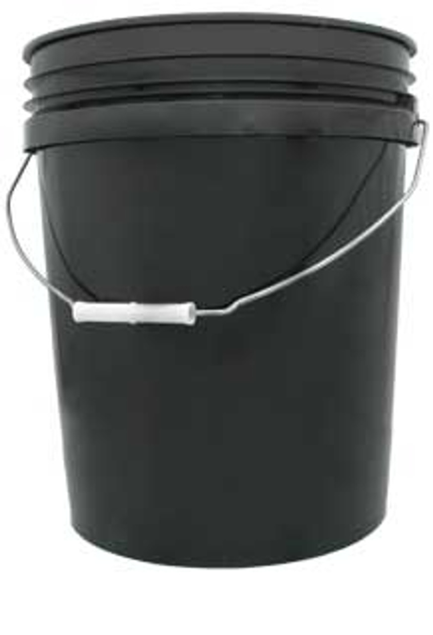 Black Bucket 5 Gallon - Not drilled