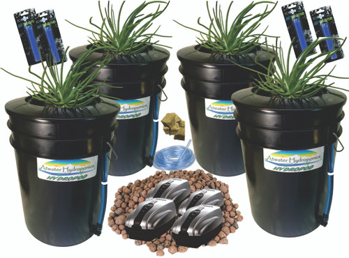 HydroPod - Complete System - Including Sample Nutrients & pH