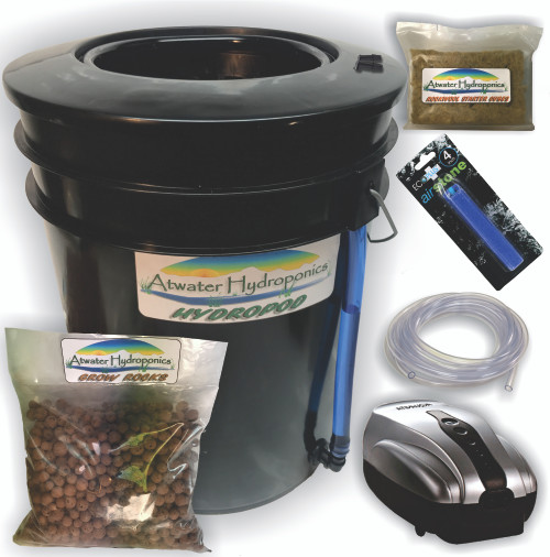 HydroPod - Complete System - No Nutrients or pH Testing