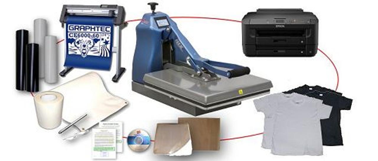 Heat Press Printer Cutter Combo Deal 03