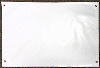 "22"" x 36' long banner material"