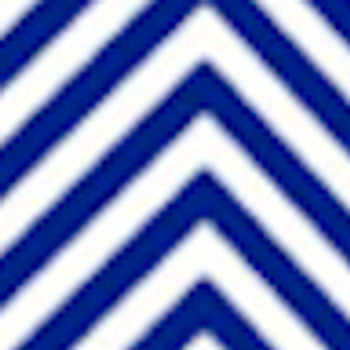 "Fashion Blue Chevron 15"" x 12"""