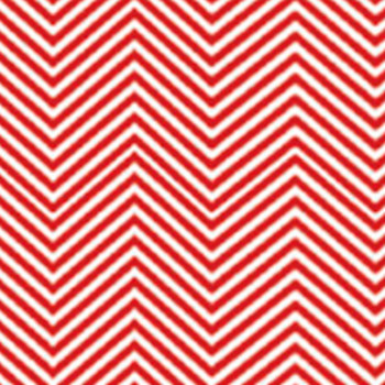 "Fashion Red Chevron 15"" x 12"""