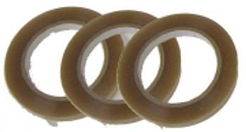 3 rolls of heat resistant tape